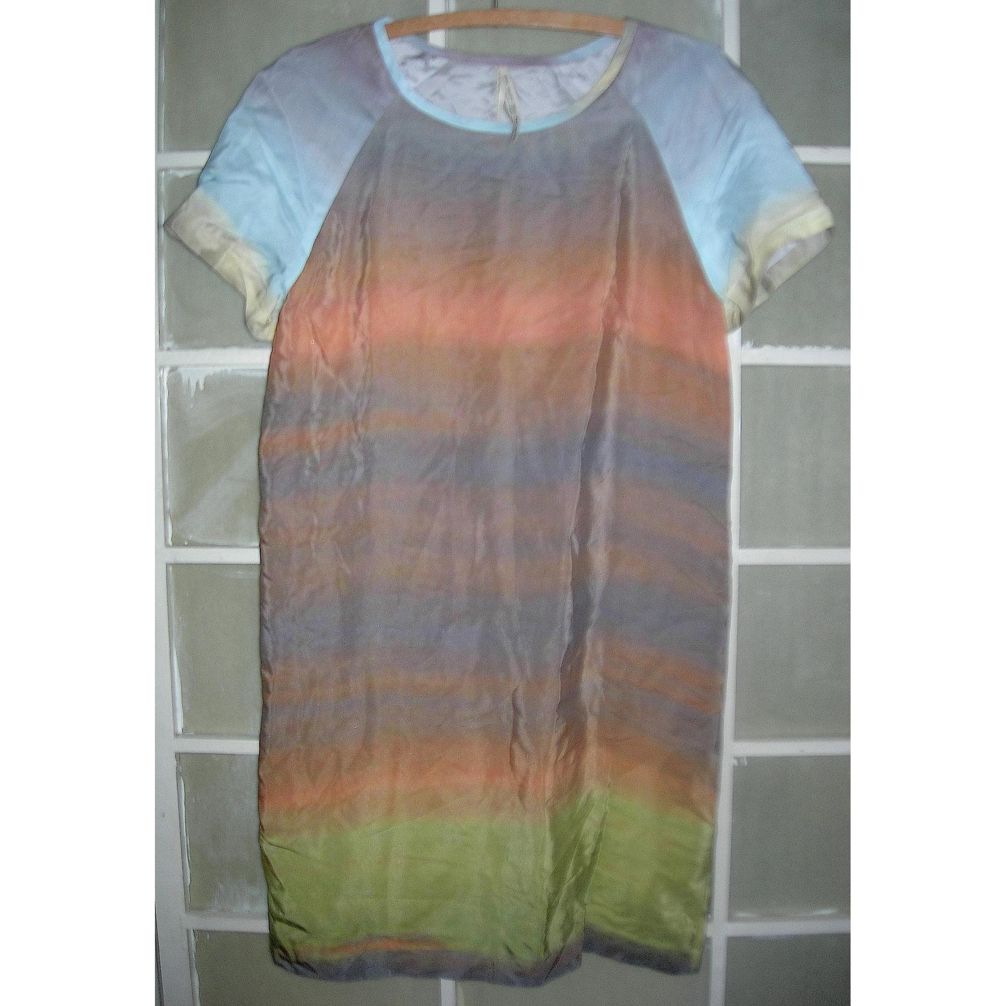 Robe courte MONOPRIX Multicouleur