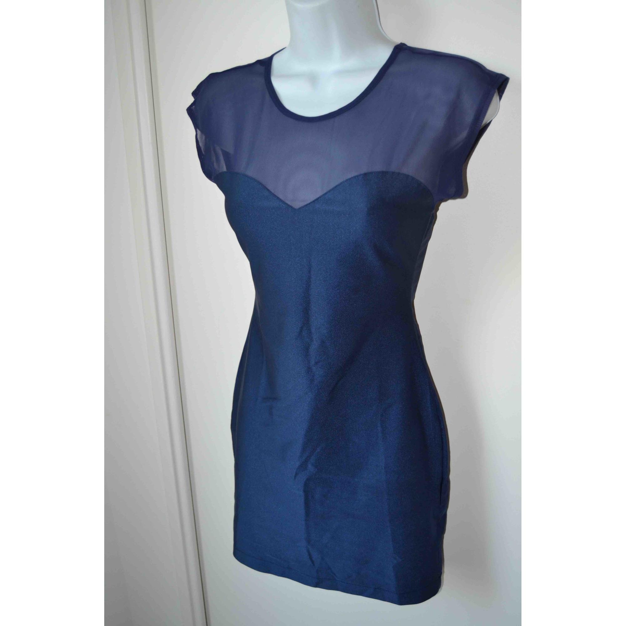 Robe courte AMERICAN APPAREL Bleu, bleu marine, bleu turquoise