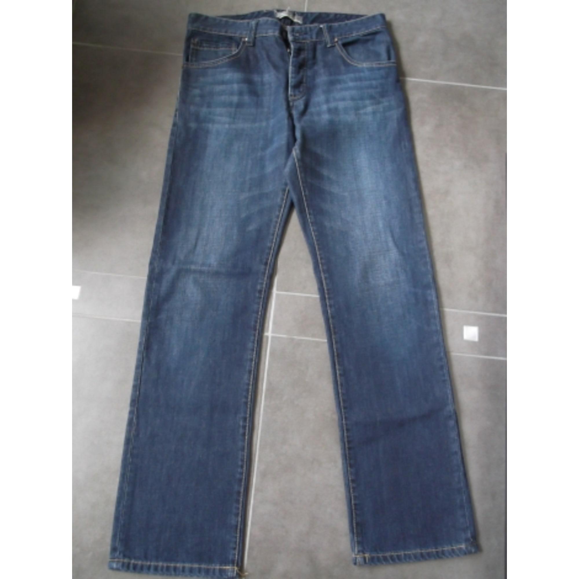 Jeans droit CELIO Bleu, bleu marine, bleu turquoise