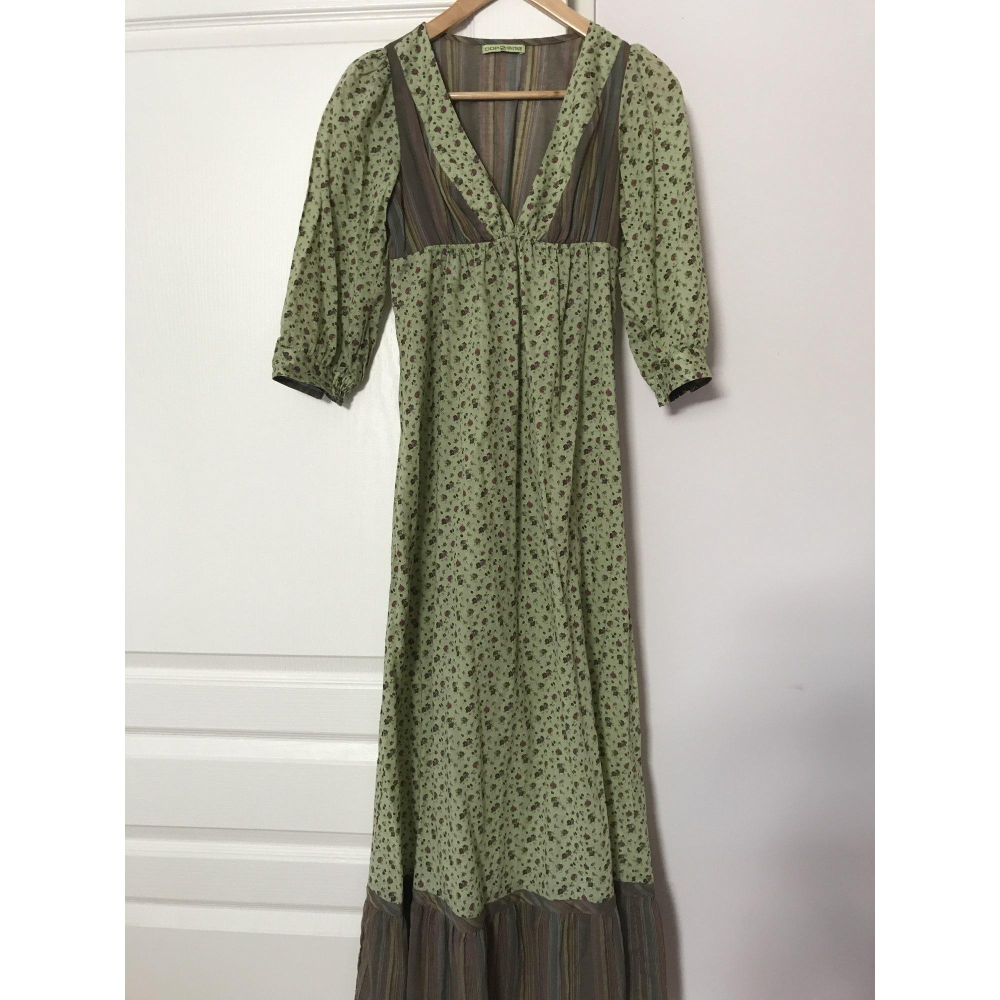 Robe Longue Ddp 36 S T1 Vert 6228990
