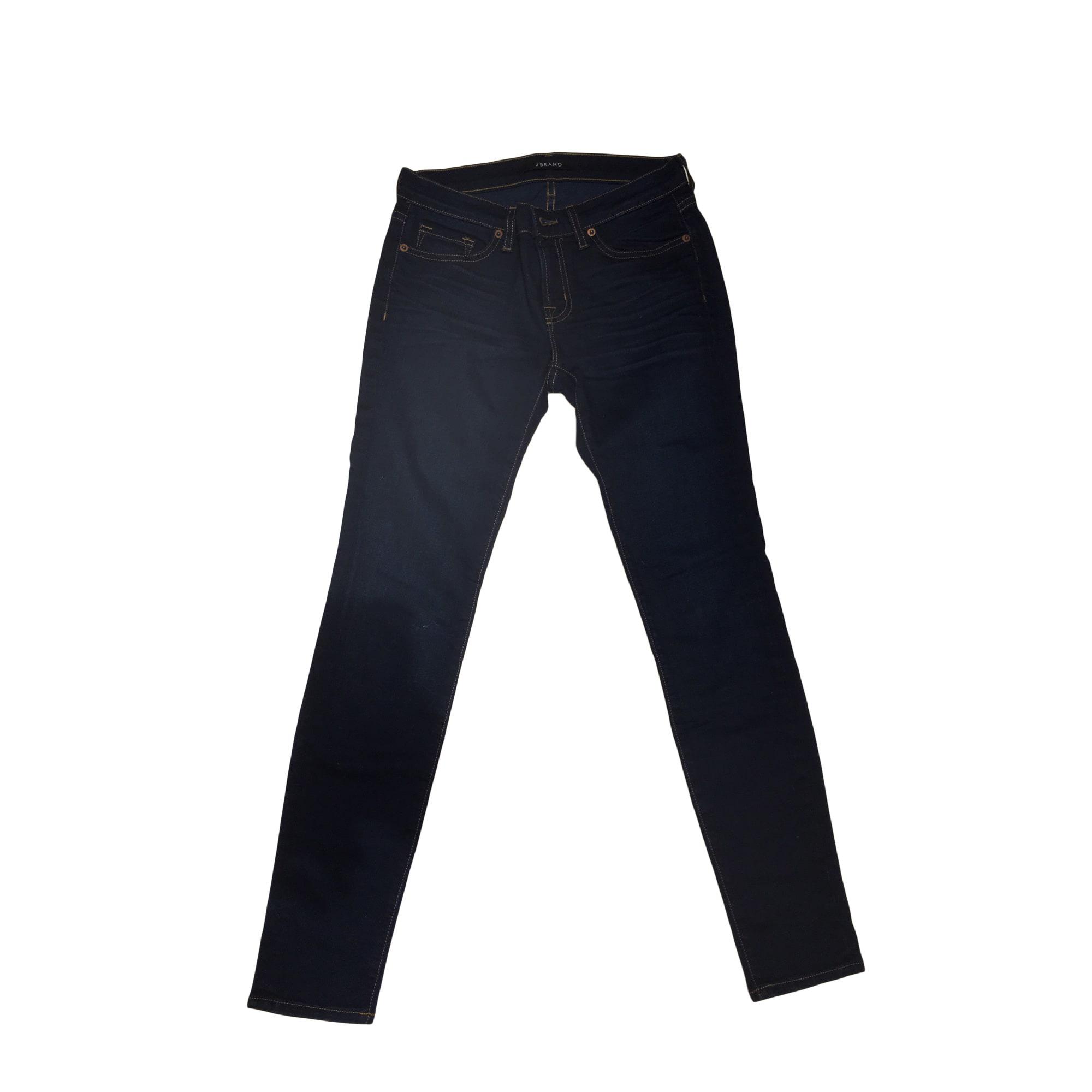 Jeans slim J BRAND Bleu, bleu marine, bleu turquoise