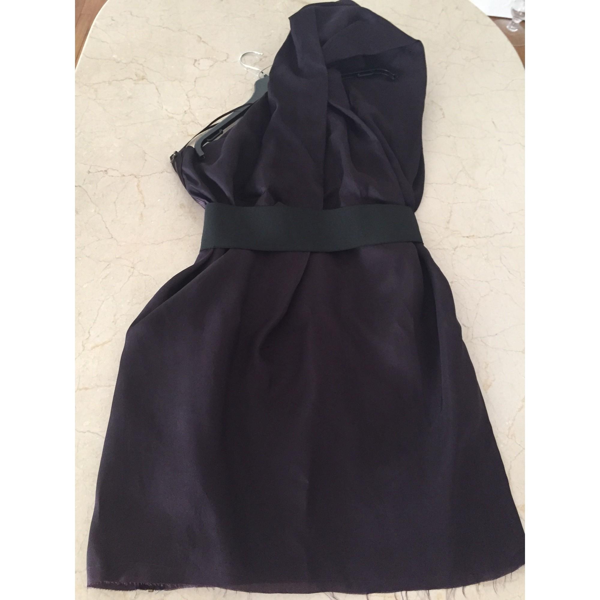 Robe courte LANVIN POUR H&M Violet, mauve, lavande