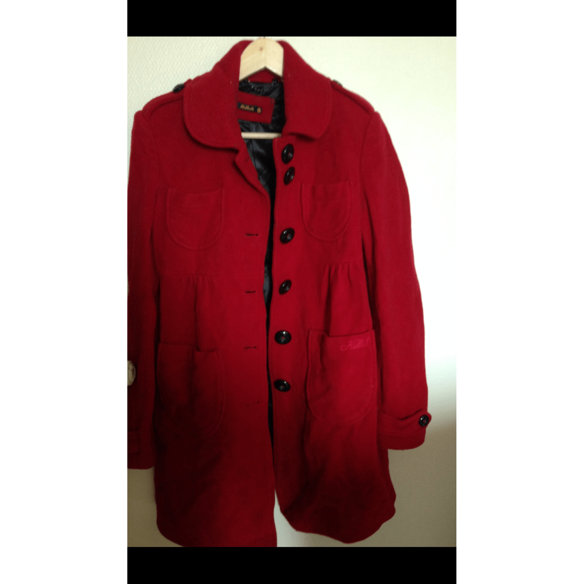 Manteau KILLAH Rouge, bordeaux