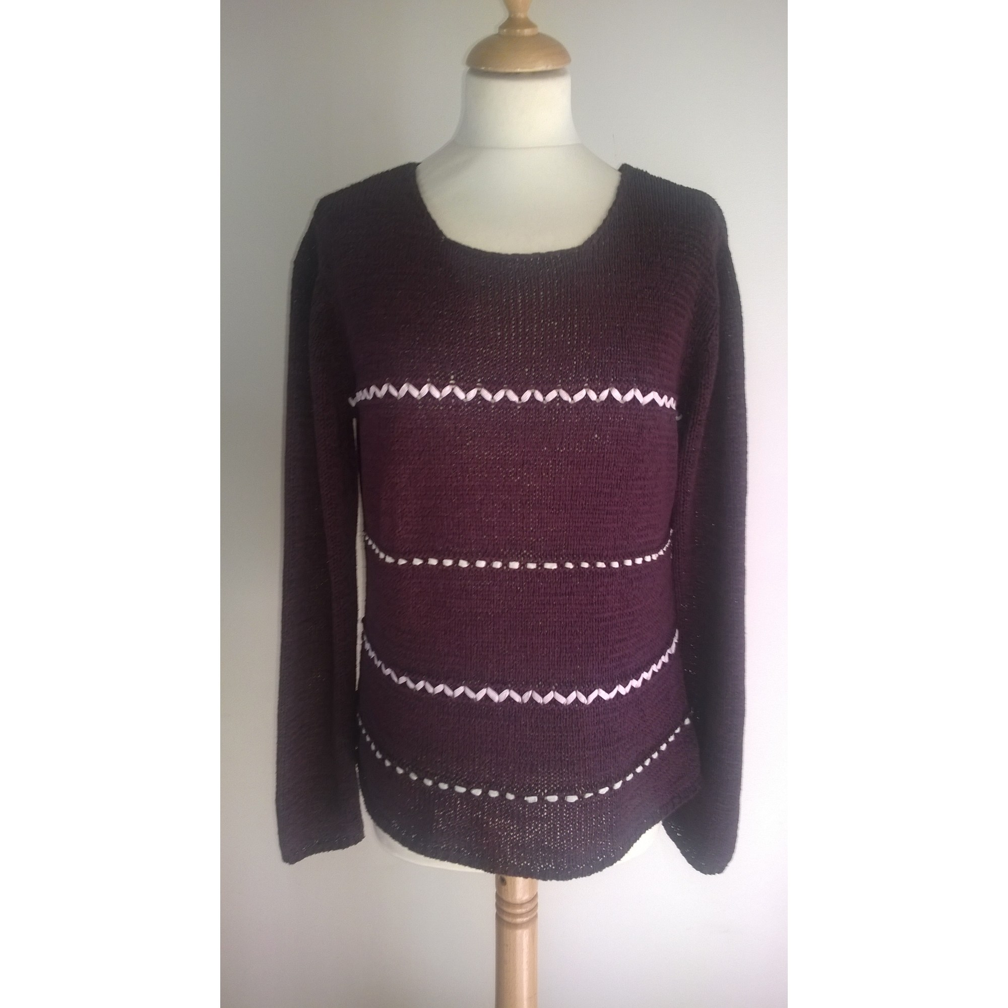 Pull ARMAND THIERY Rouge, bordeaux