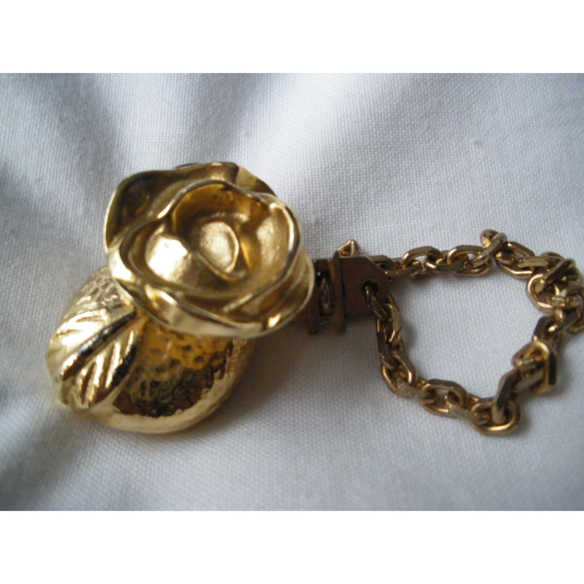 Bijou de téléphone KENZO Doré, bronze, cuivre