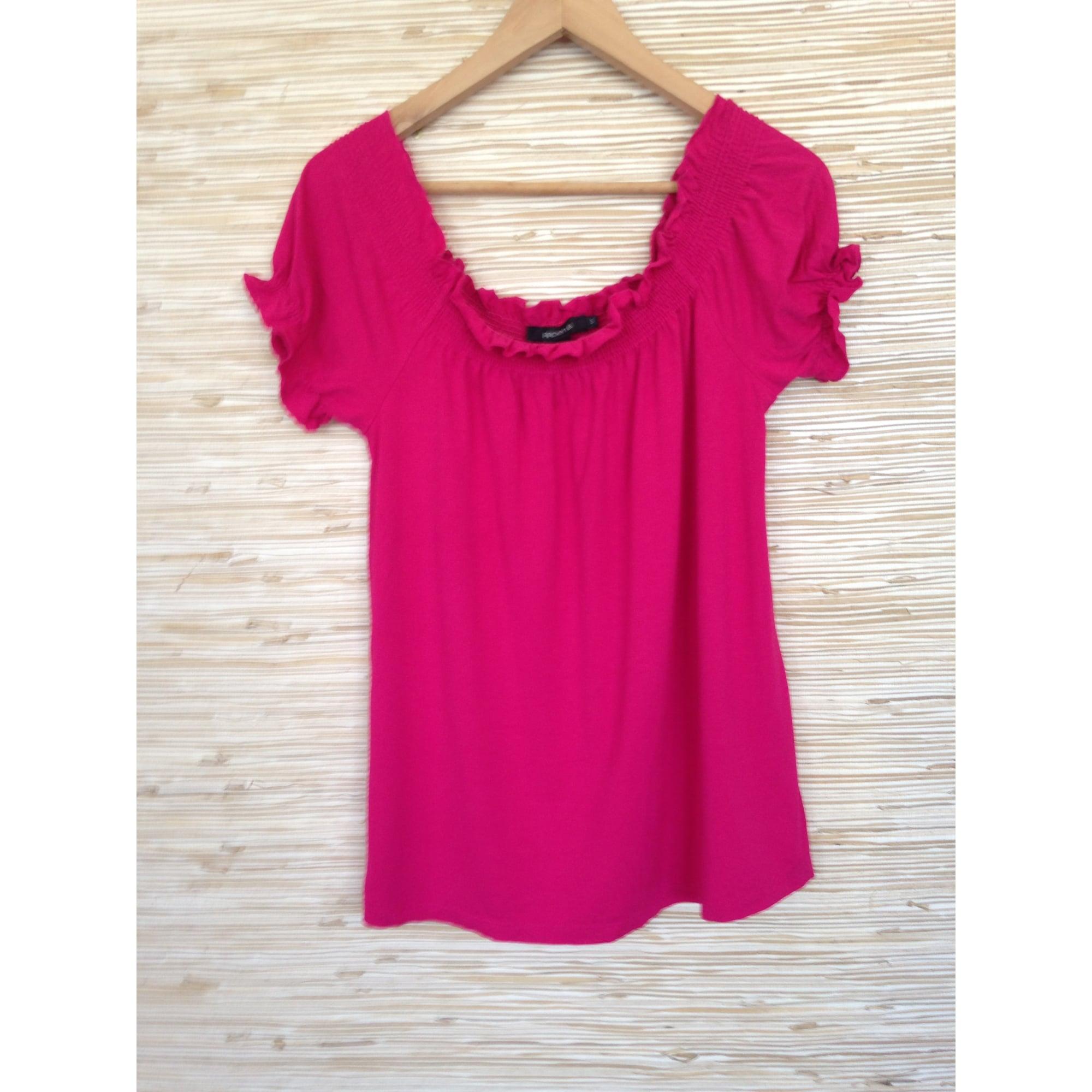 Top, tee-shirt ARDEN B Rose, fuschia, vieux rose