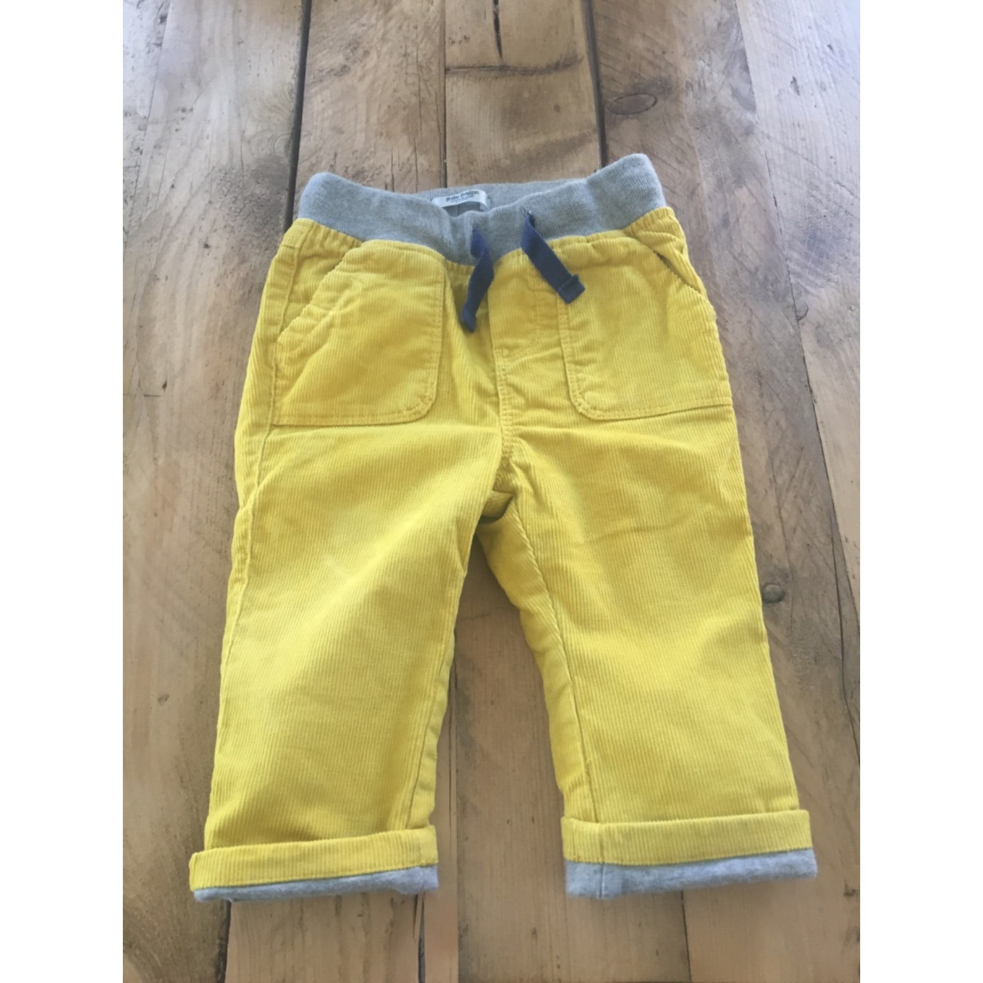 Pantalon BABY BODEN Jaune