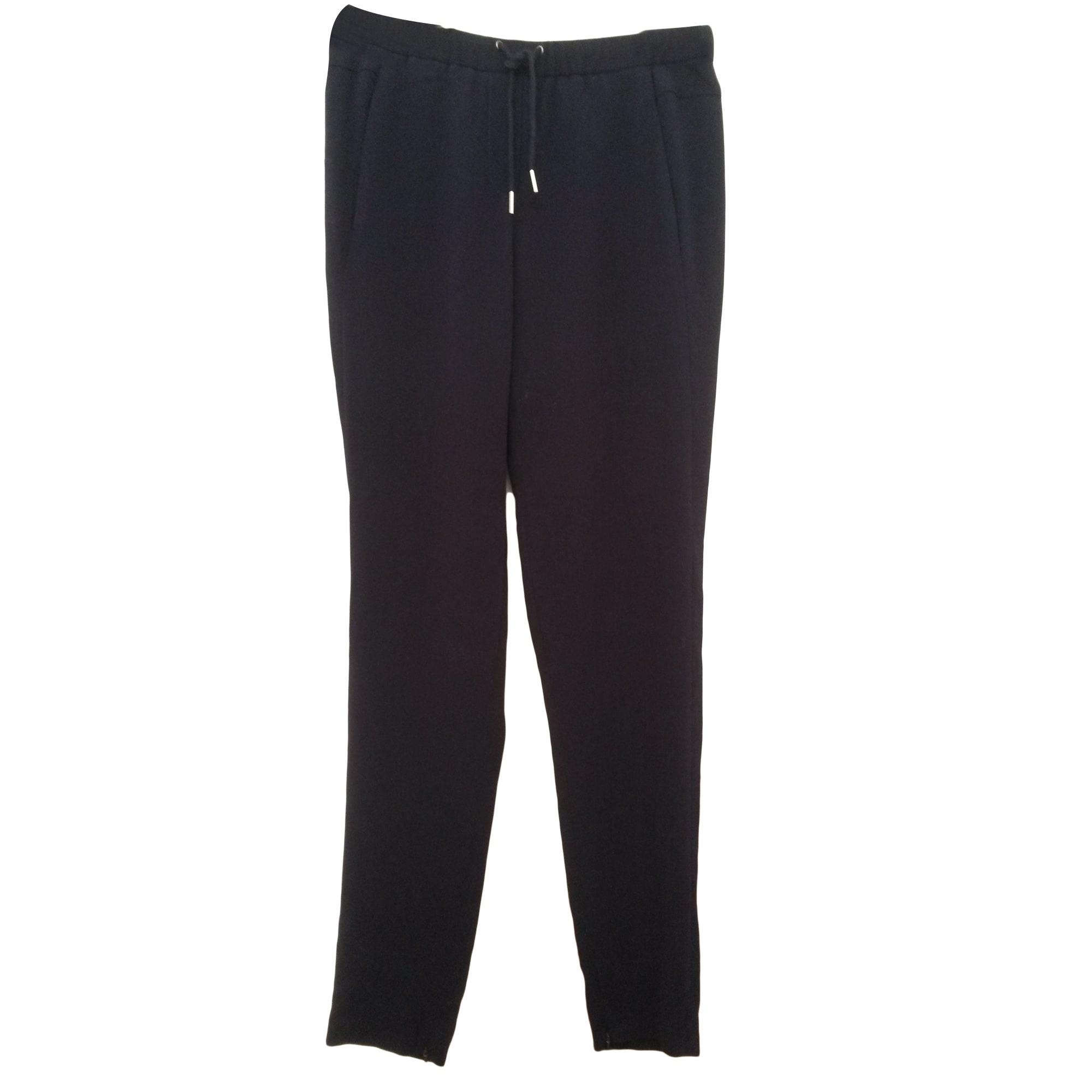 Pantalon carotte MAJE Violet, mauve, lavande