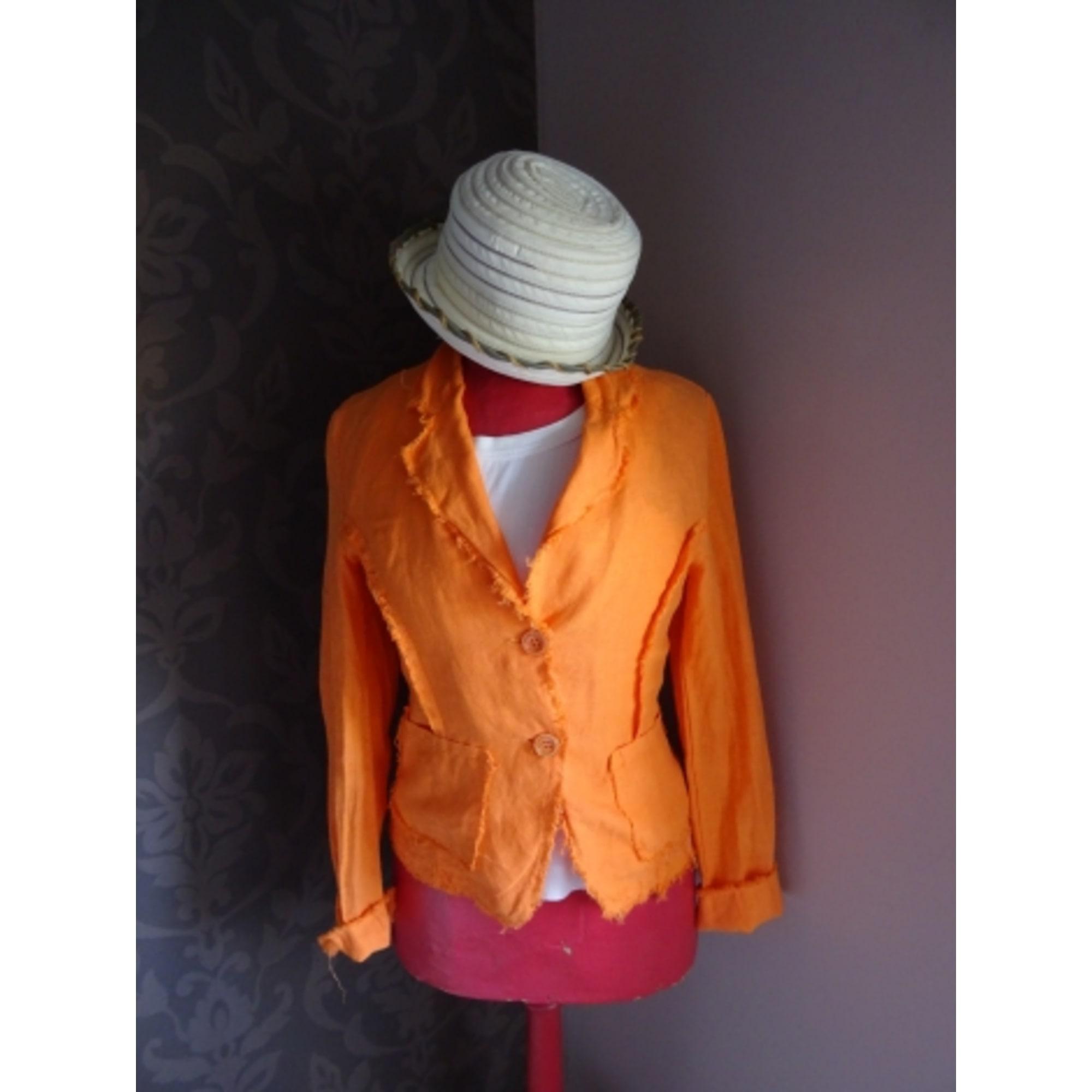 Veste MARQUE INCONNUE Orange
