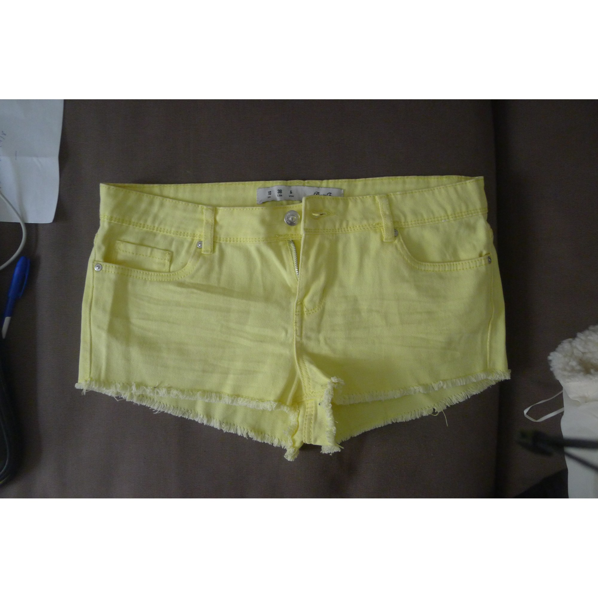 Short DENIM&CO Jaune
