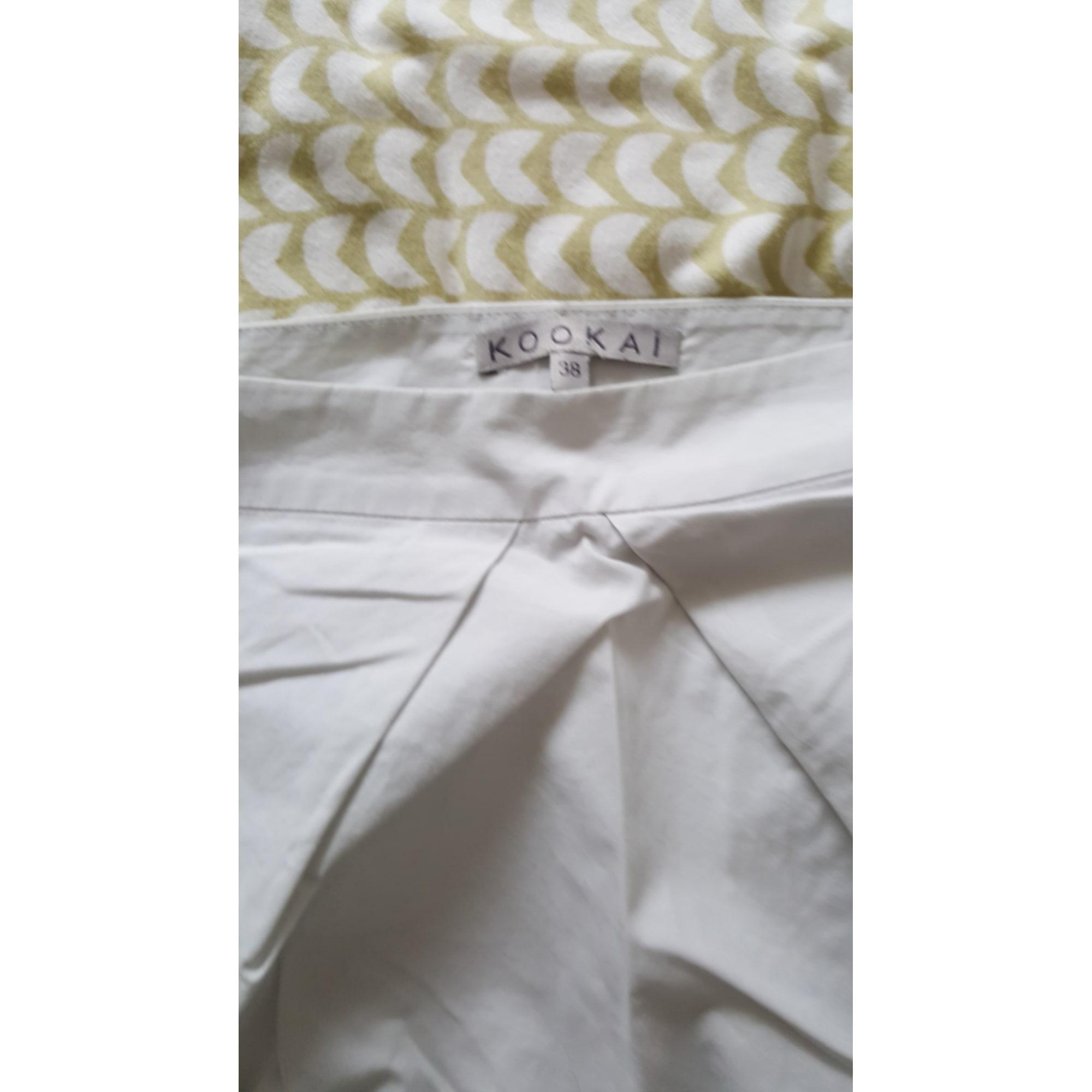 Jupe courte KOOKAI Blanc, blanc cassé, écru