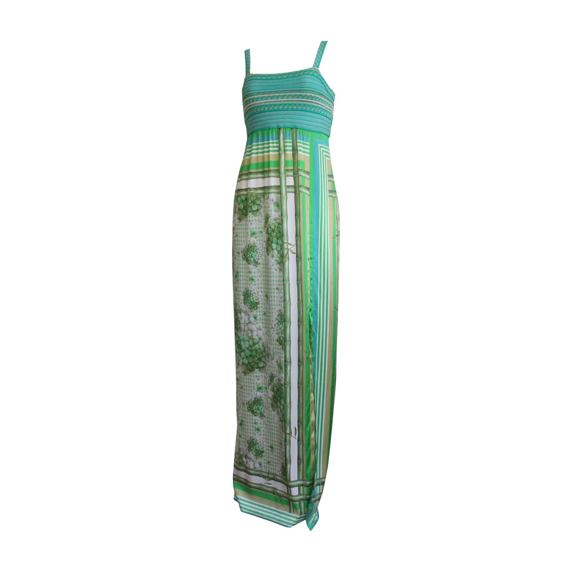 Robe longue ROBERTO CAVALLI Vert