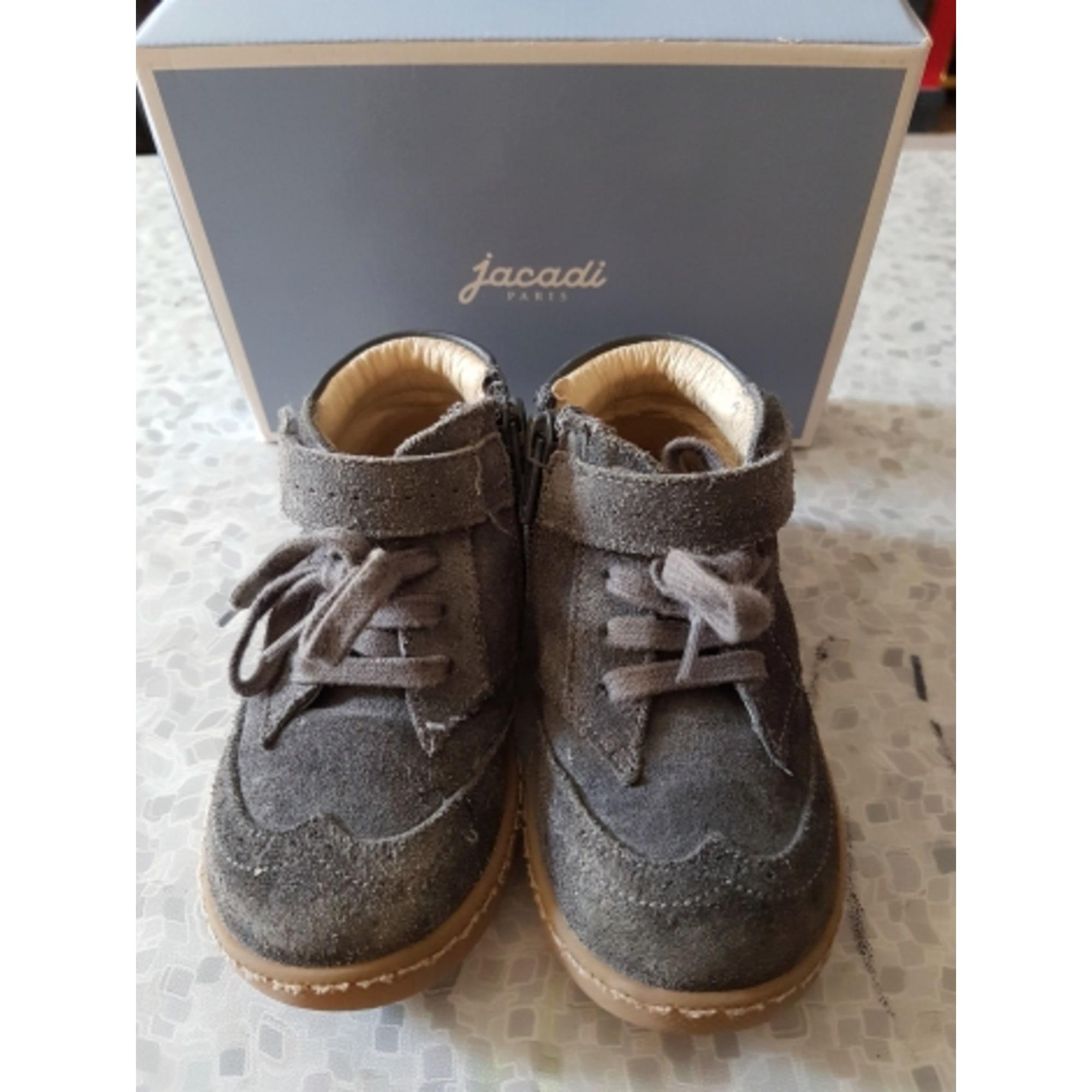 Ankle Boots JACADI Gray, charcoal