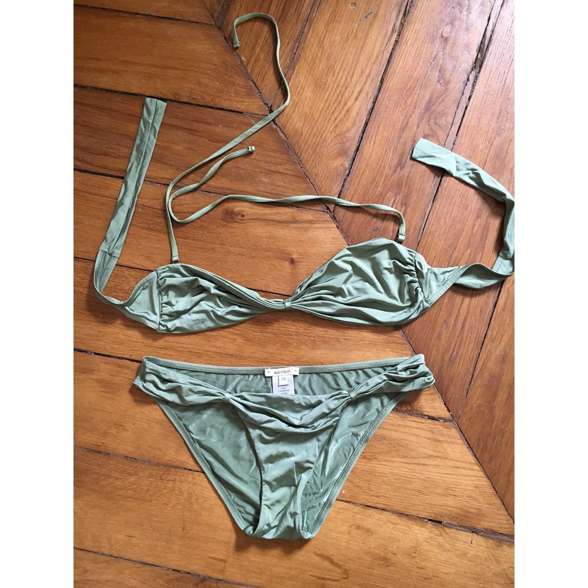 Maillot de bain natation NAELIE Vert