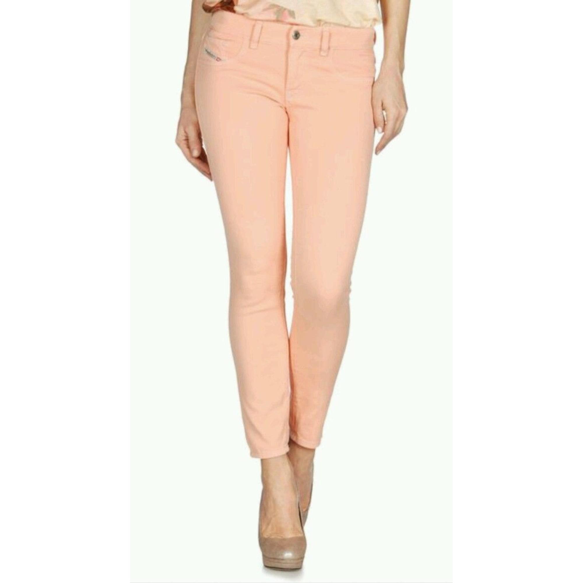 Jeans slim DIESEL Orange