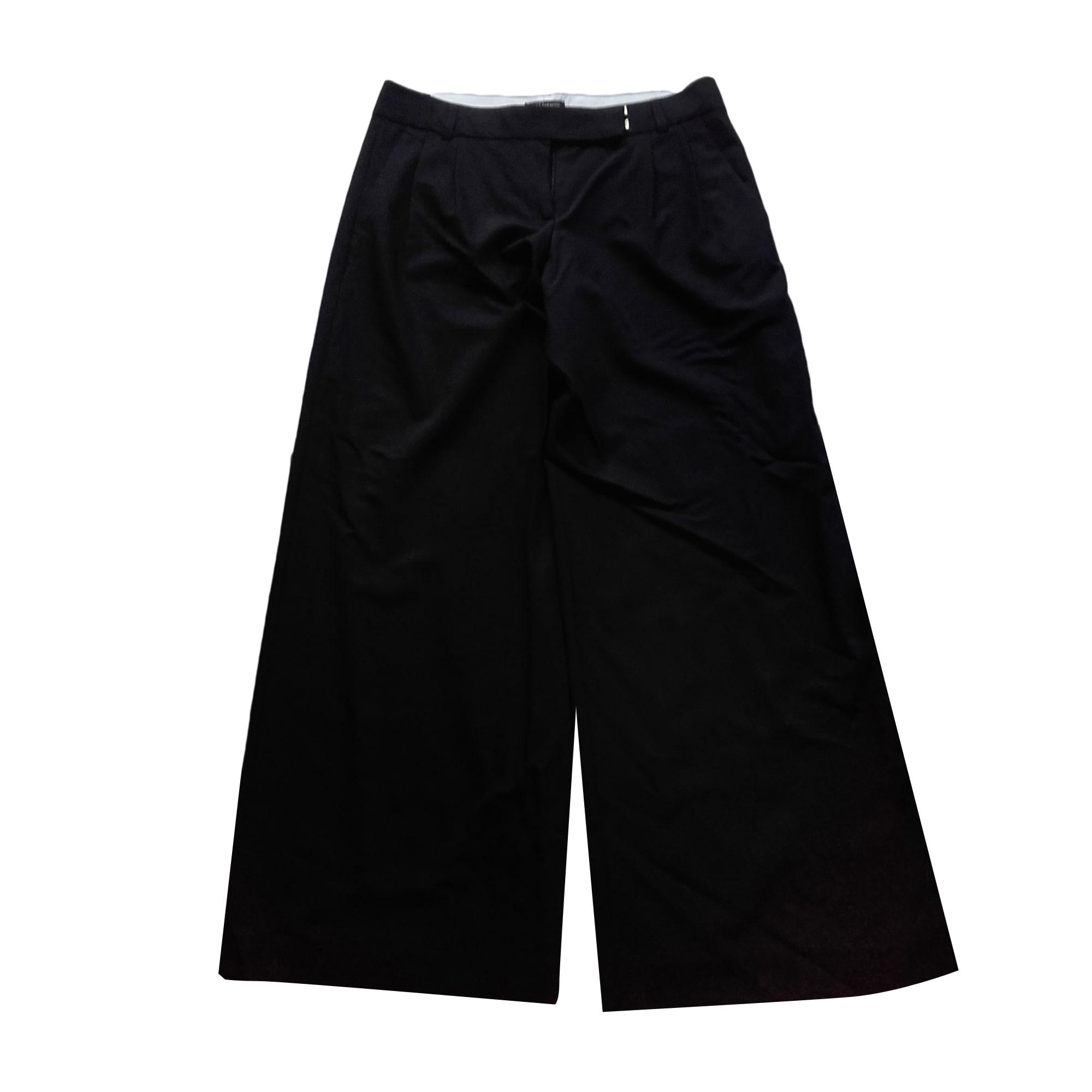 Pantalon large TARA JARMON Noir