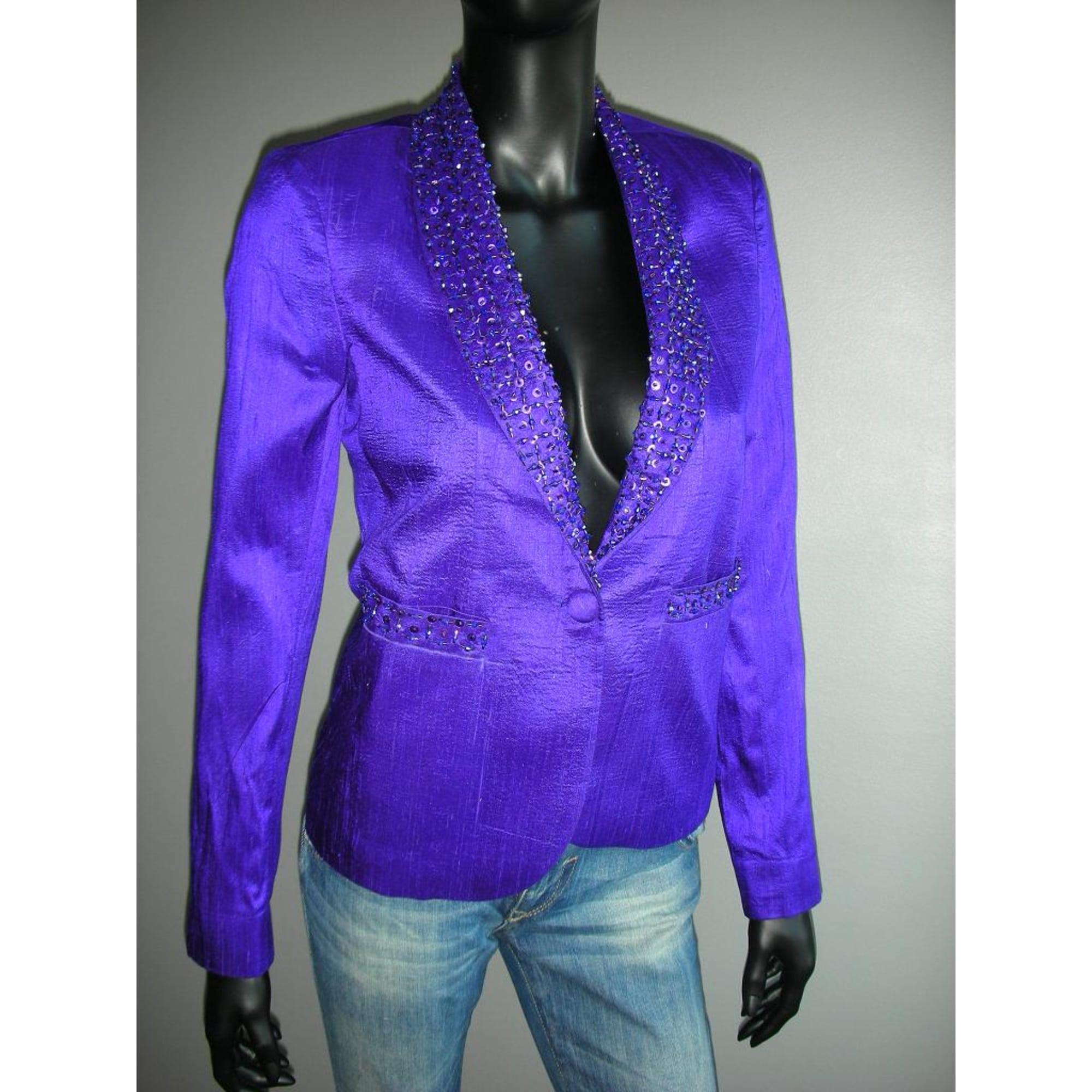 Blazer, veste tailleur MHAND'S HOPE Violet, mauve, lavande