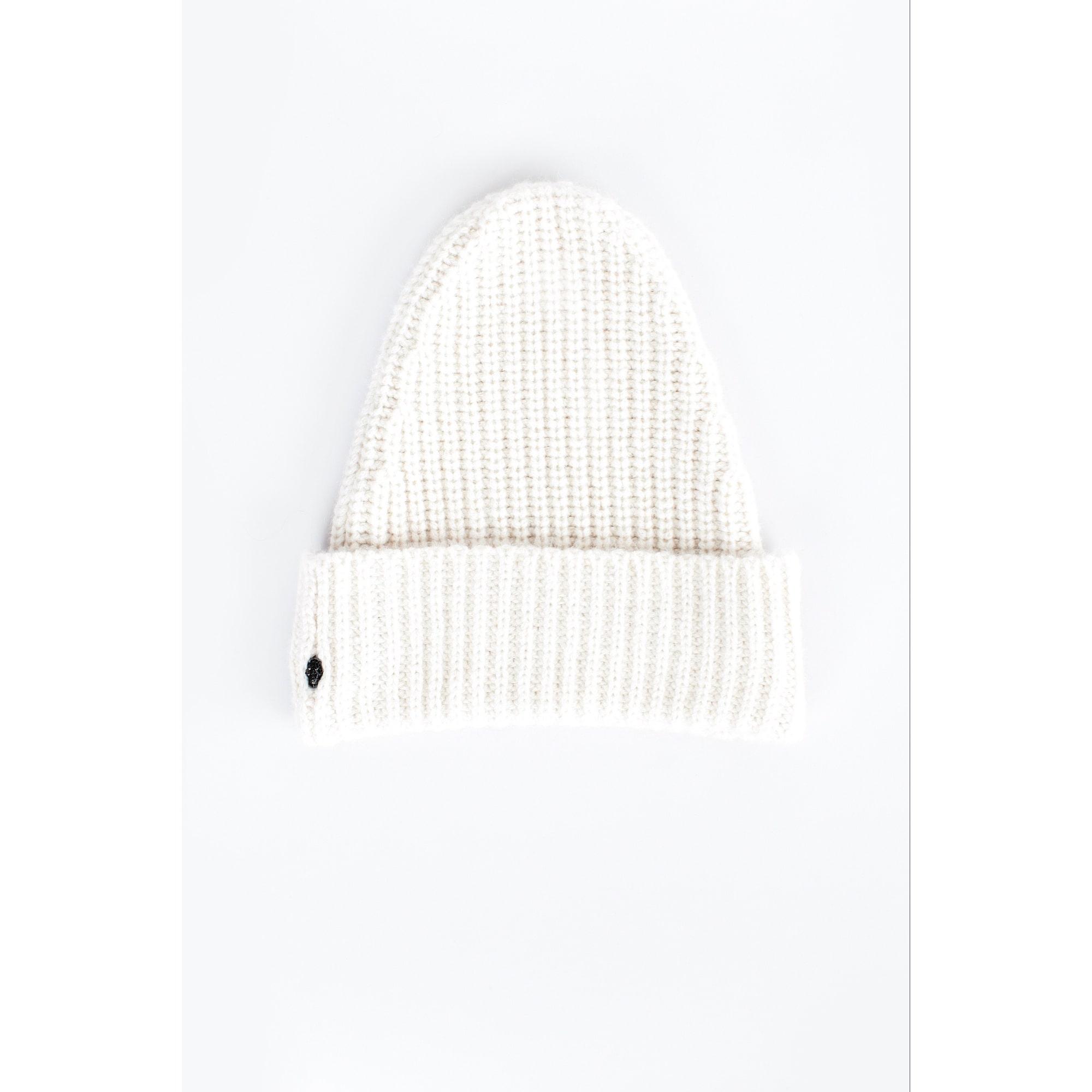 Bonnet ZADIG & VOLTAIRE Blanc, blanc cassé, écru