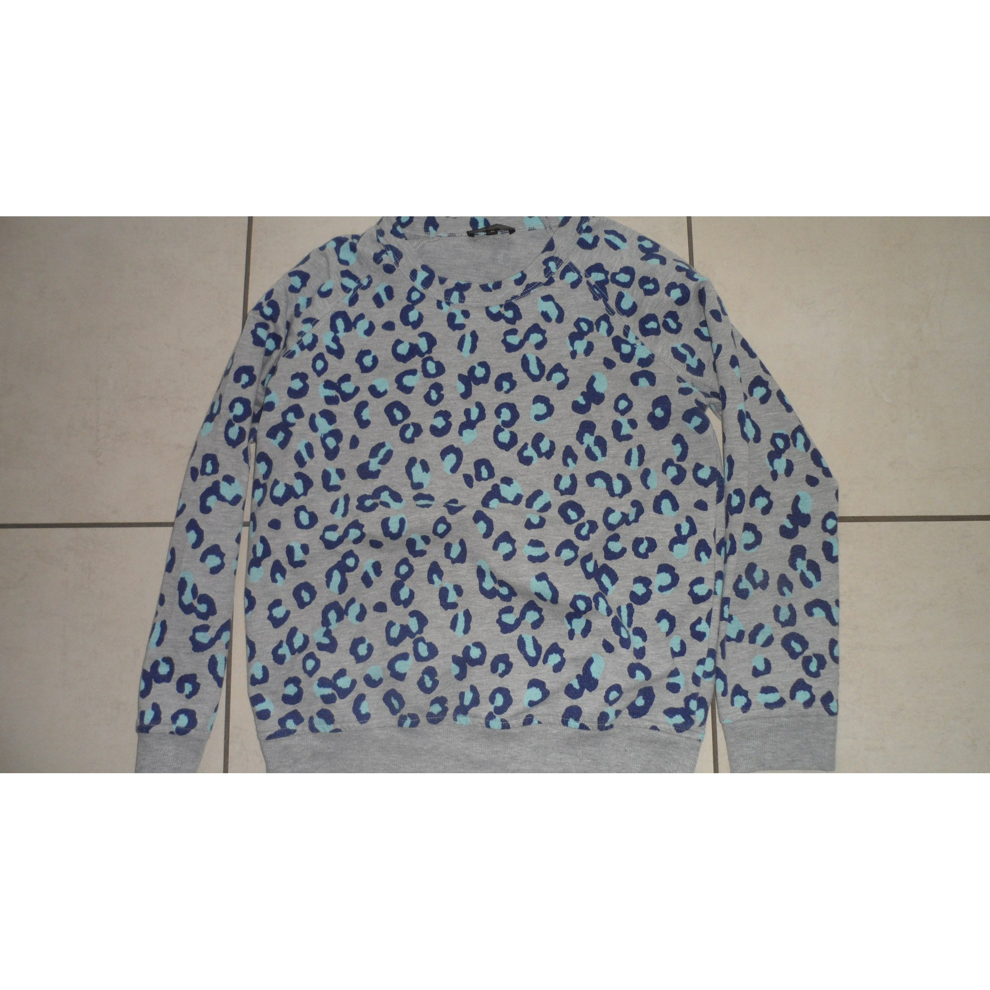 Sweat APC Bleu, bleu marine, bleu turquoise