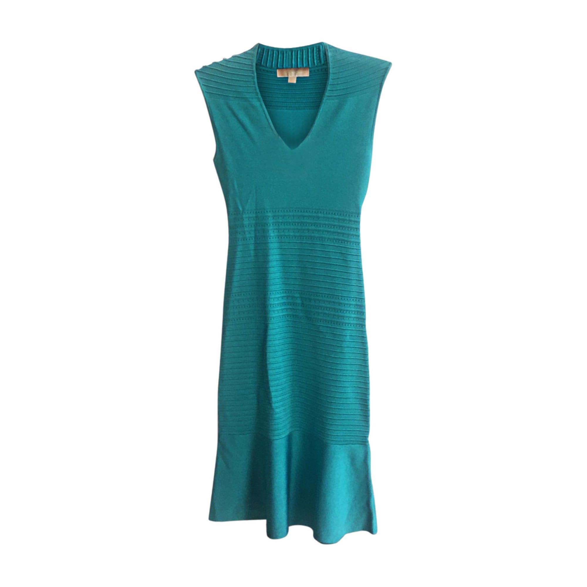 Robe mi-longue MICHAEL KORS Bleu, bleu marine, bleu turquoise