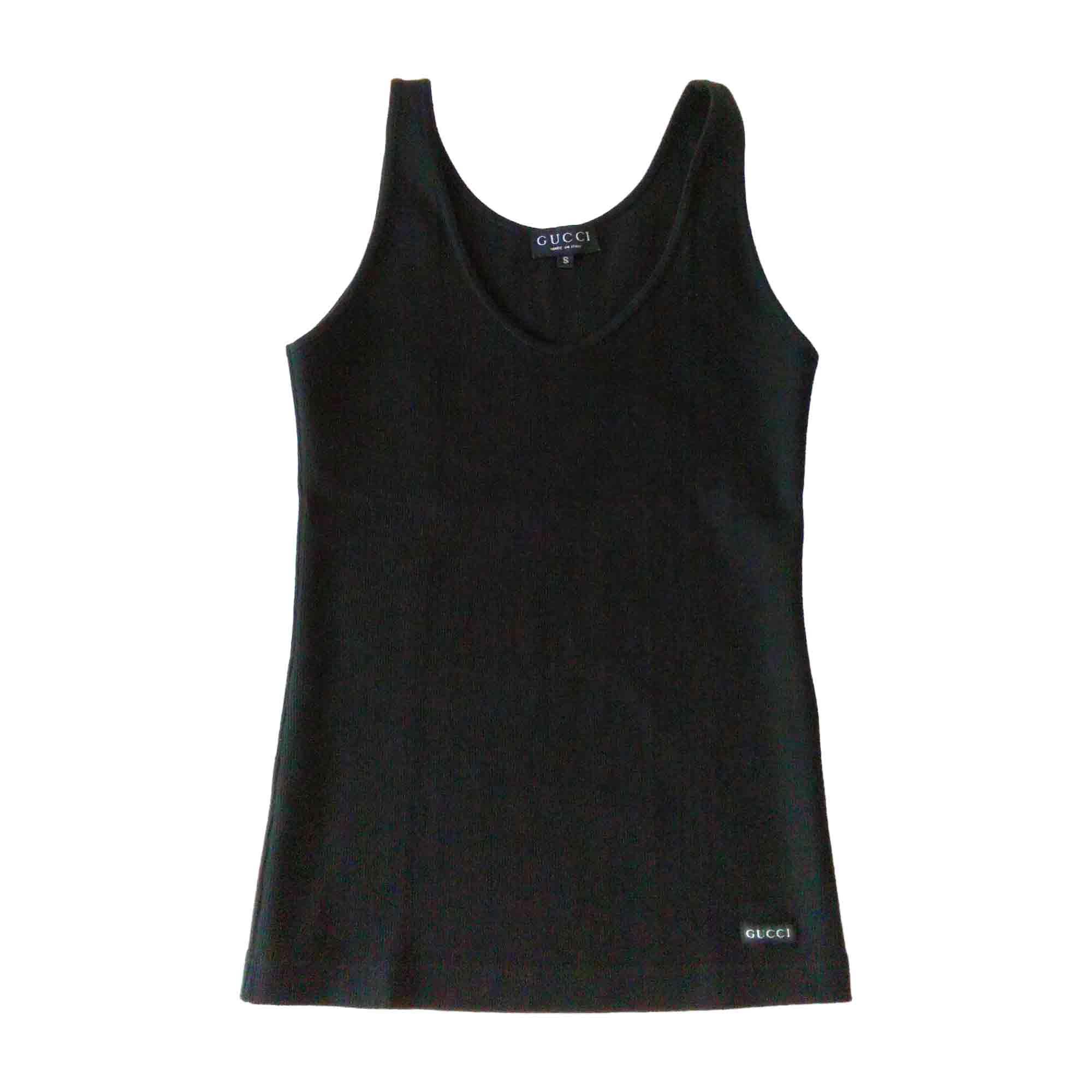 Top, tee-shirt GUCCI Noir
