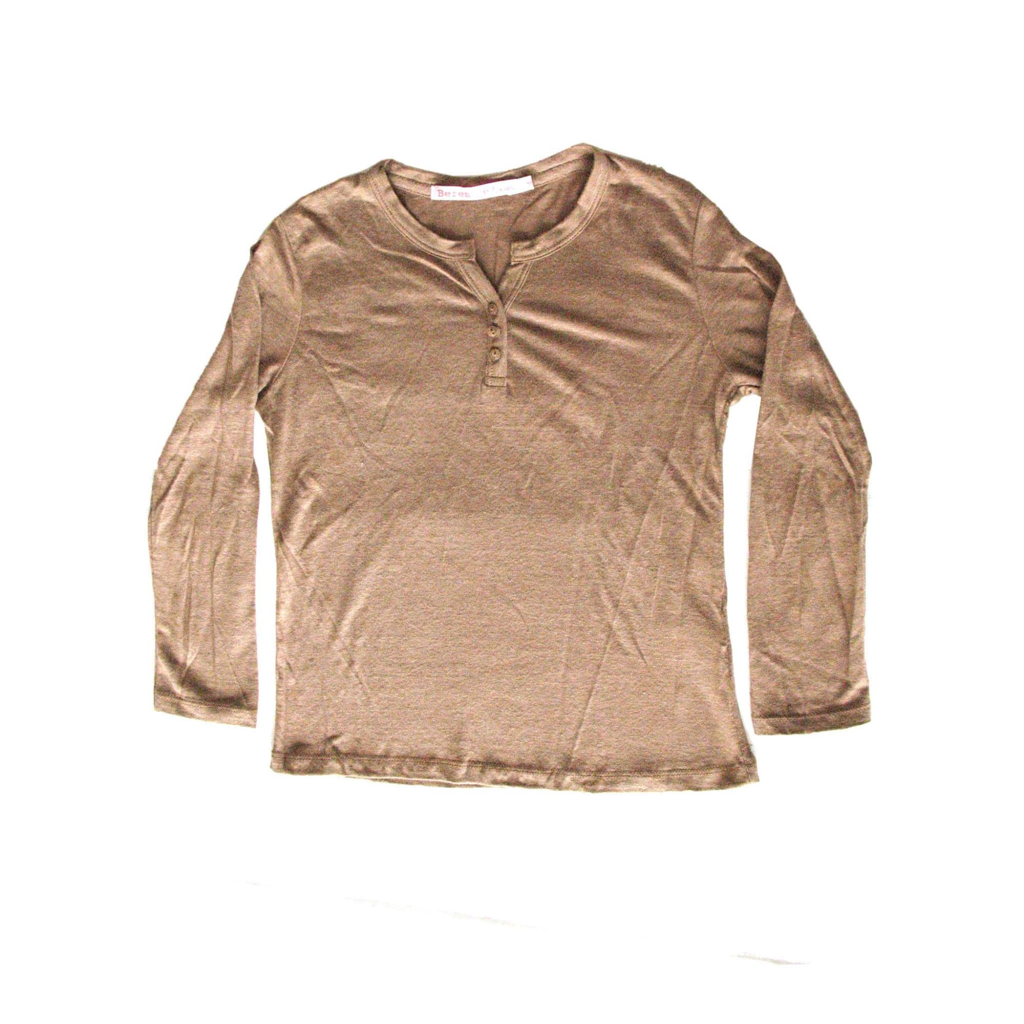 Top, Tee-shirt BERENICE Marron