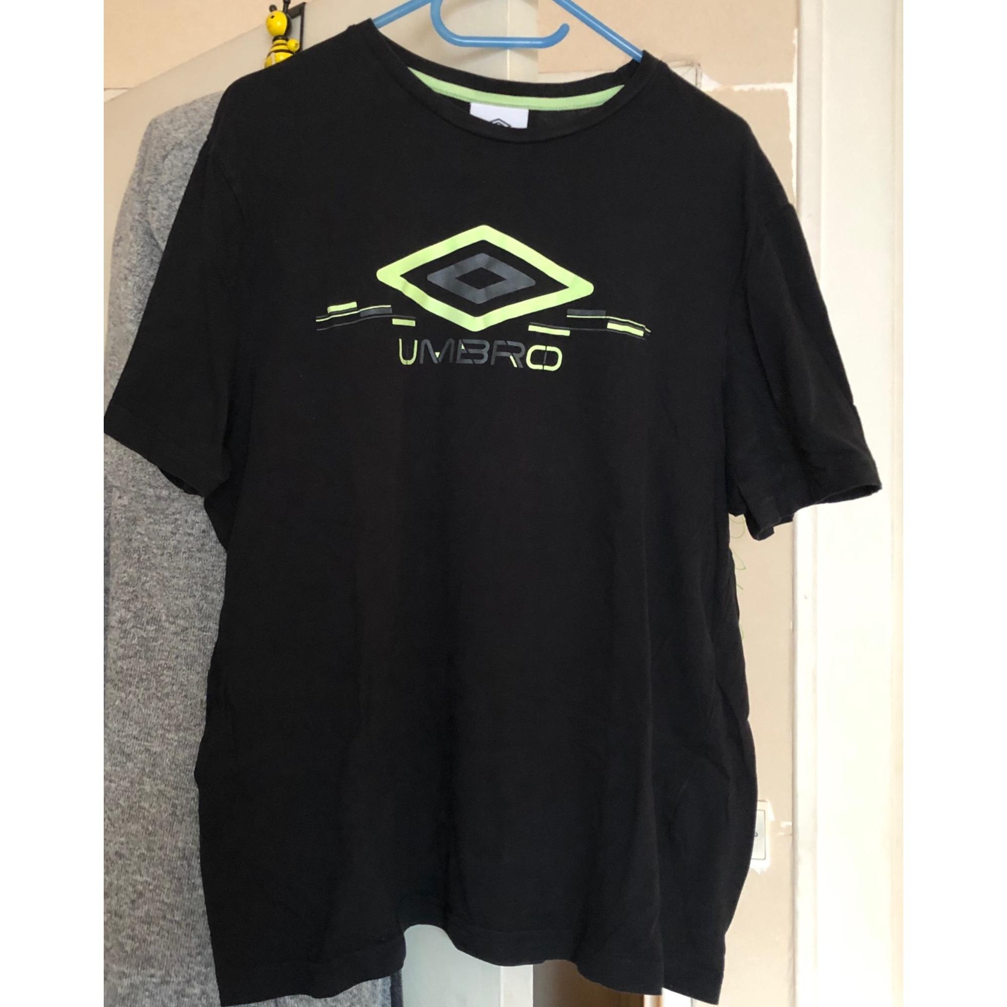 T-shirt UMBRO Black