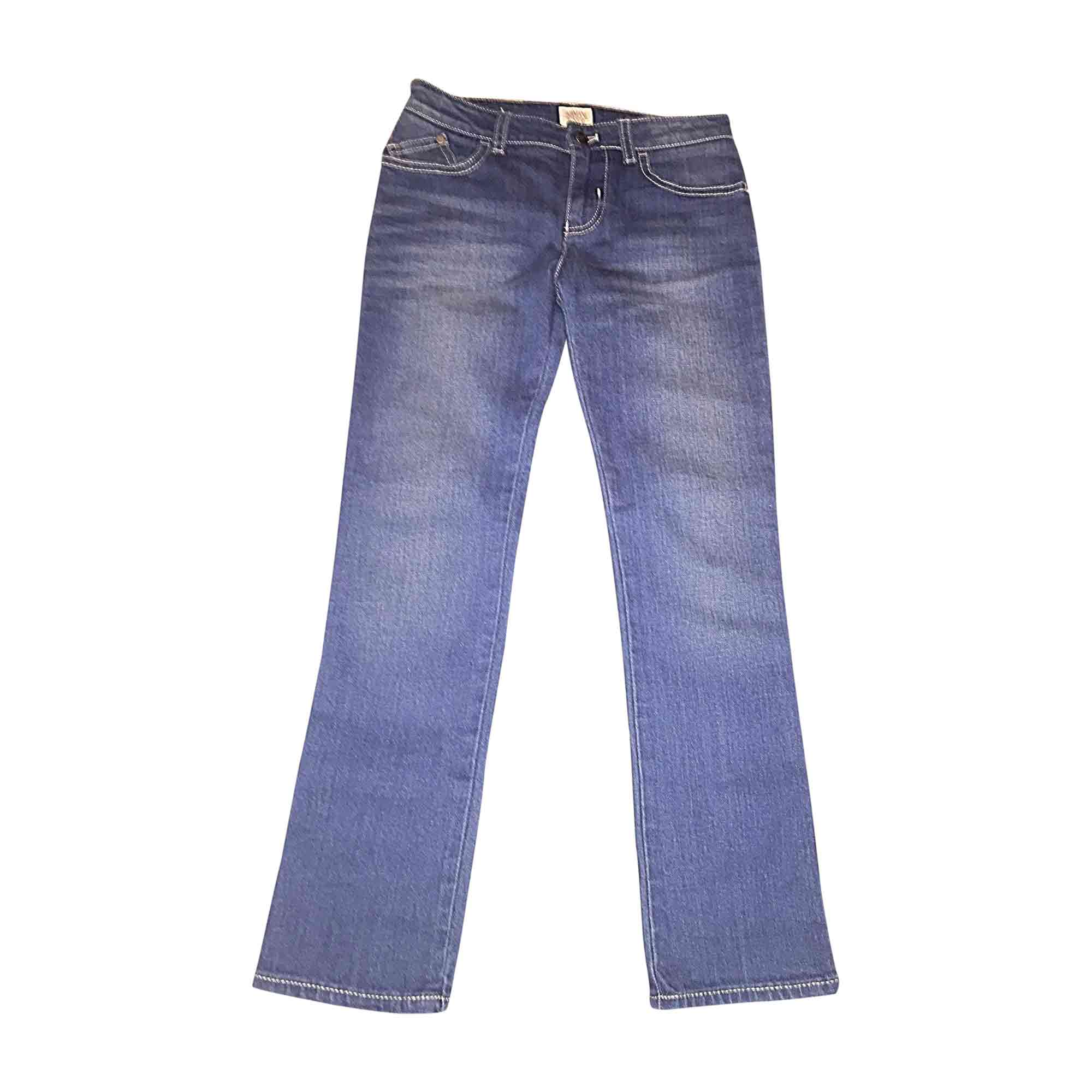 Pants ARMANI Blue, navy, turquoise
