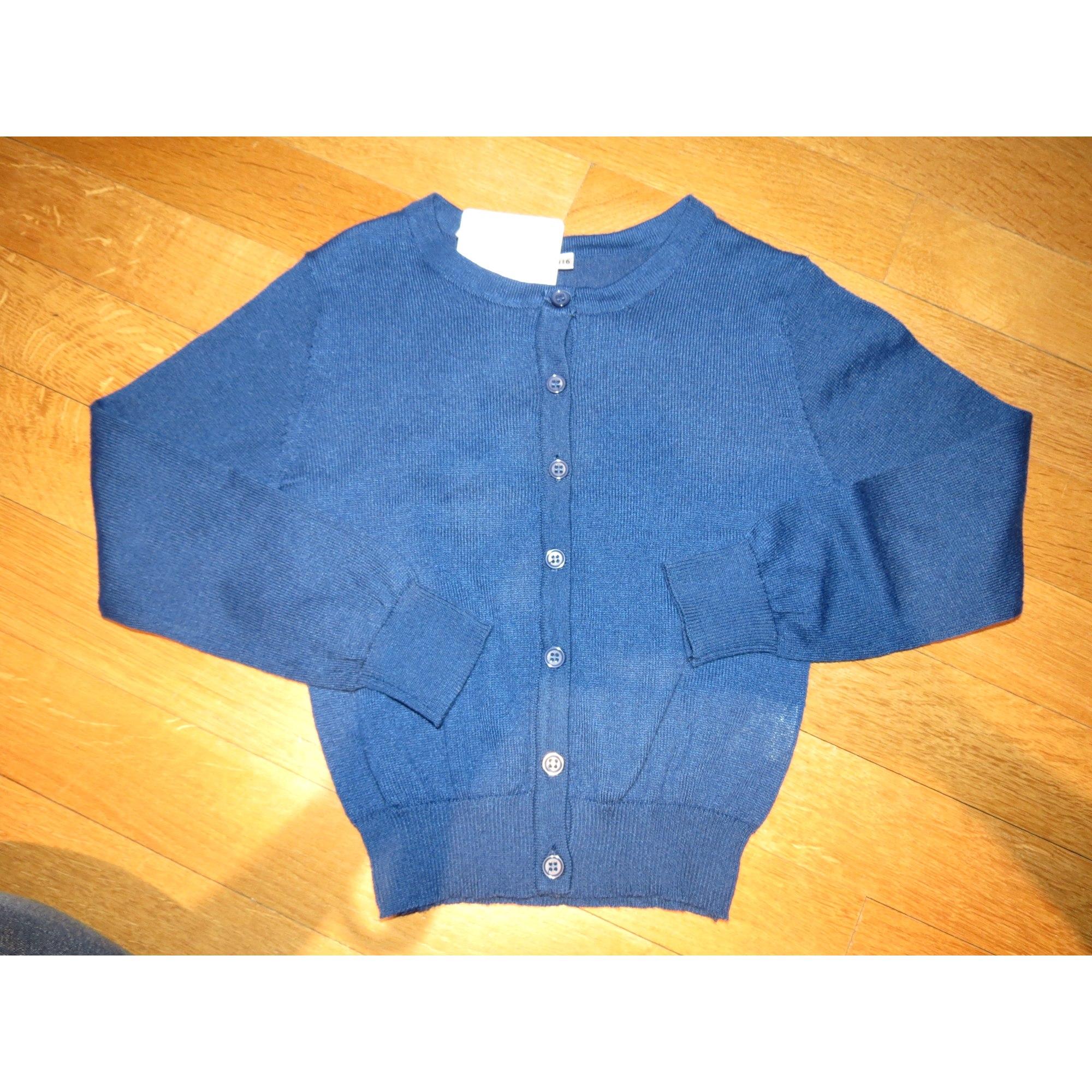 Gilet, cardigan MARQUE INCONNUE Bleu, bleu marine, bleu turquoise
