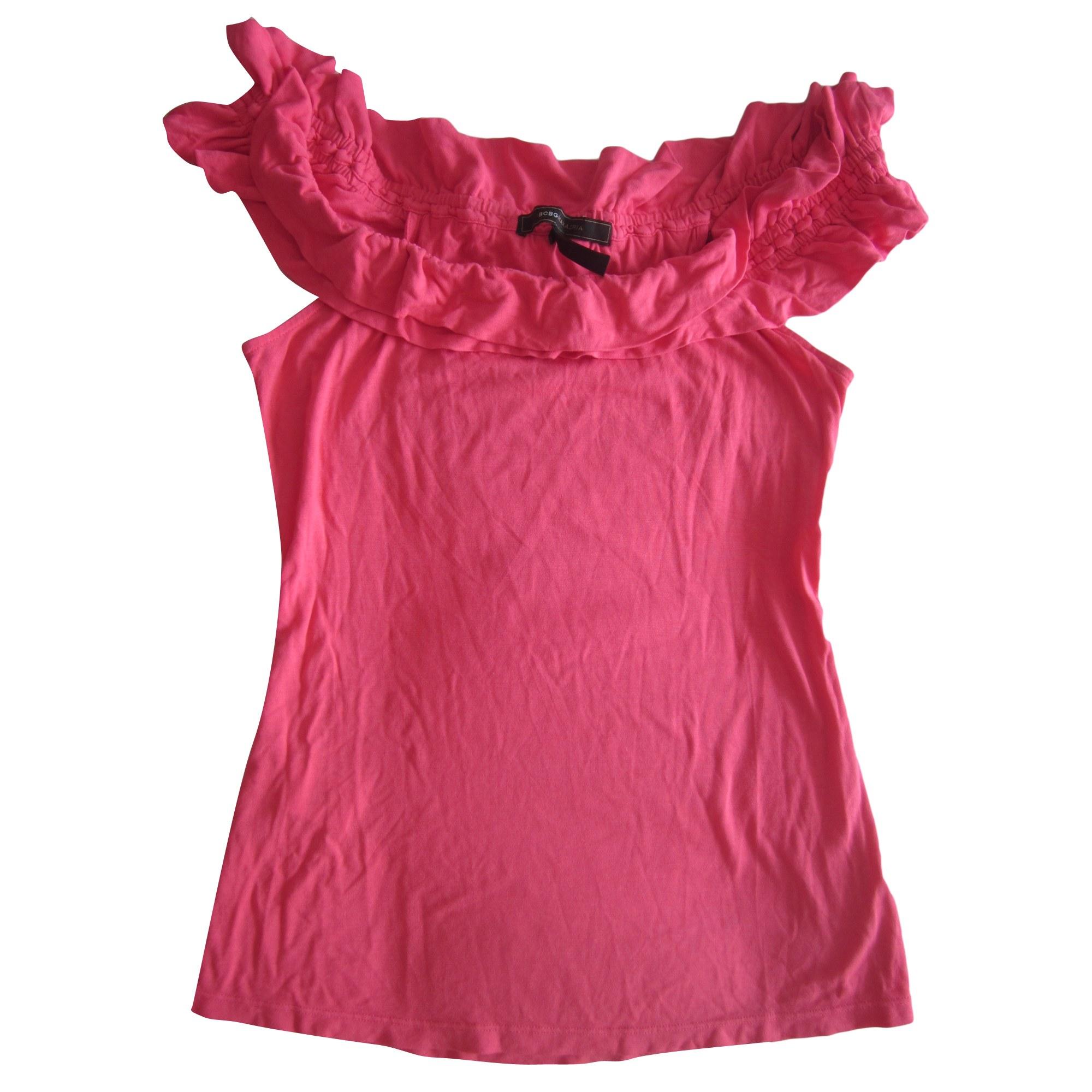Top, tee-shirt BCBG MAX AZRIA Rose, fuschia, vieux rose
