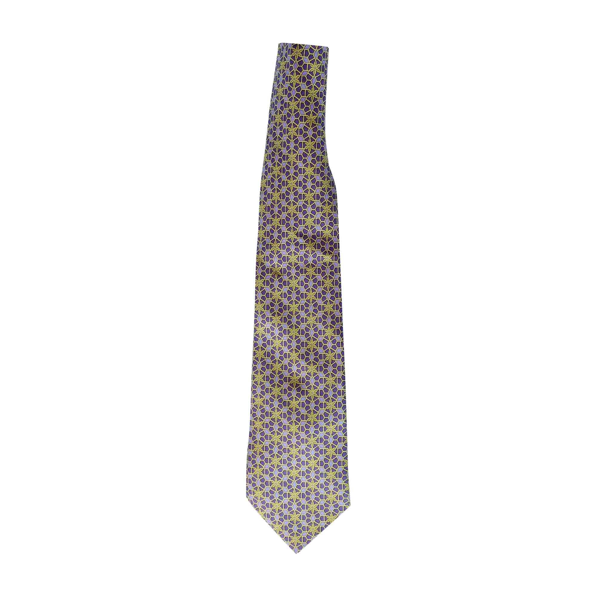 Cravate HERMÈS Violet, mauve, lavande