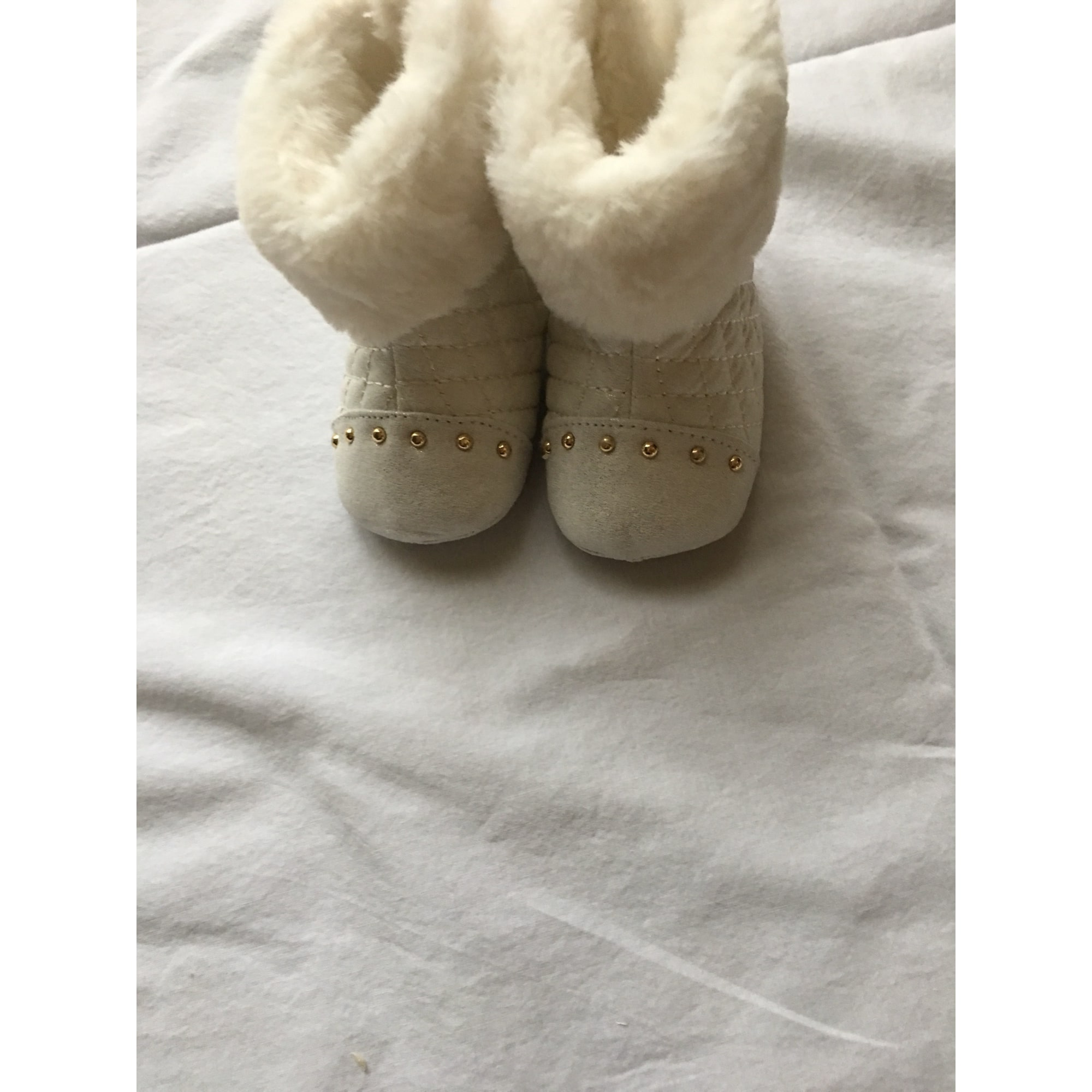 Ankle Boots BABY MAYORAL White, off-white, ecru