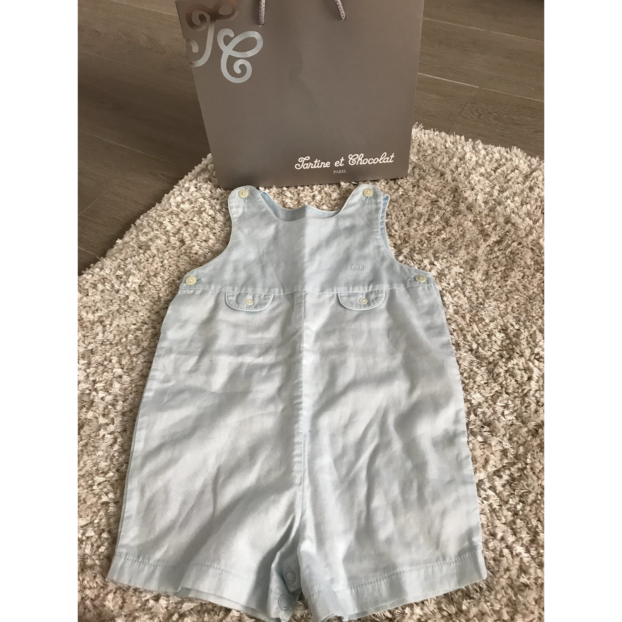 Shorts Set, Outfit BABY DIOR Blue, navy, turquoise