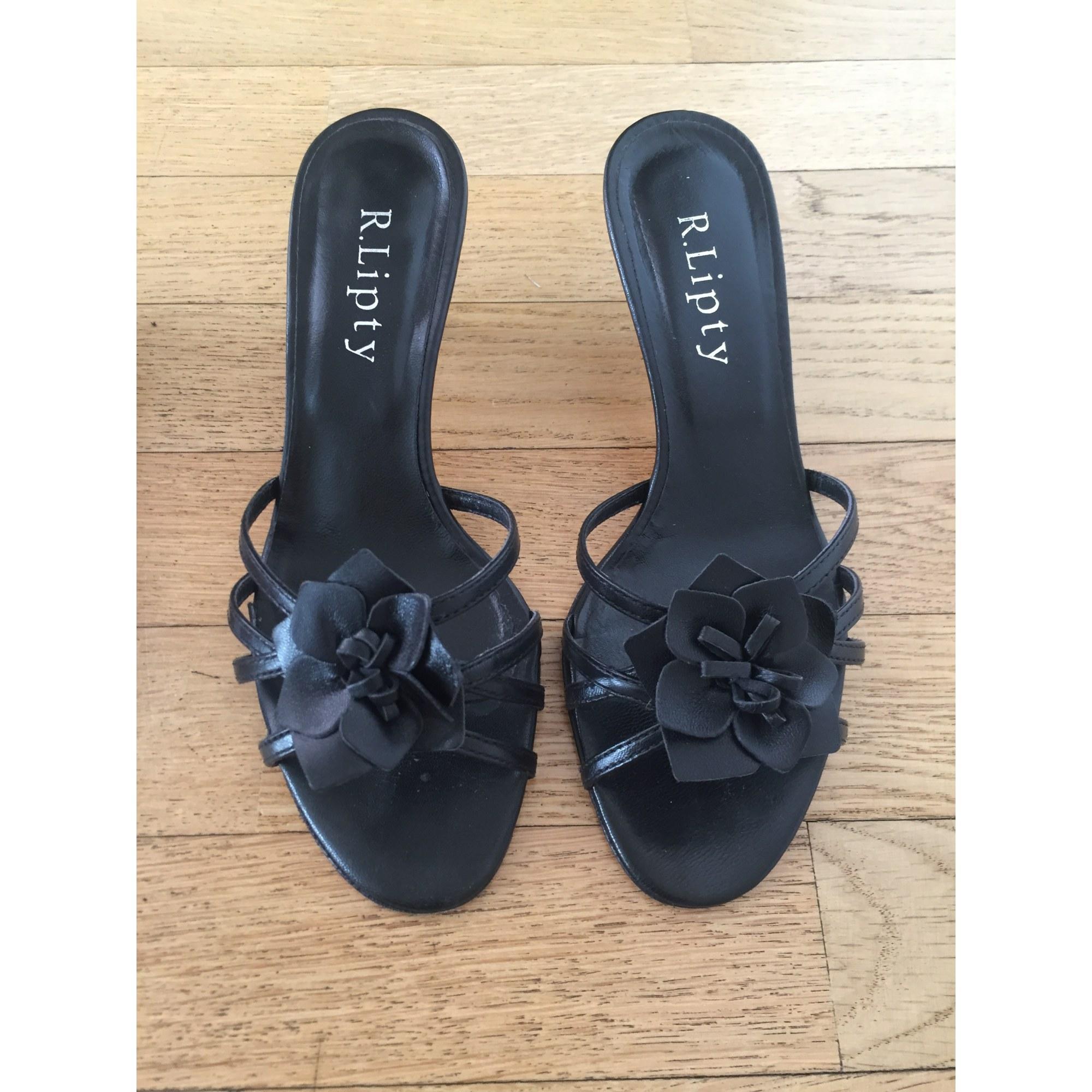Sandales à talons R.LIPTY Noir