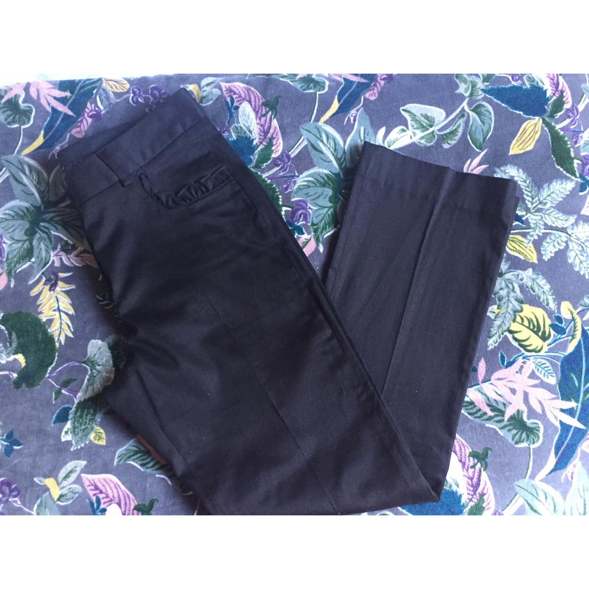 Pantalon évasé TARA JARMON Noir