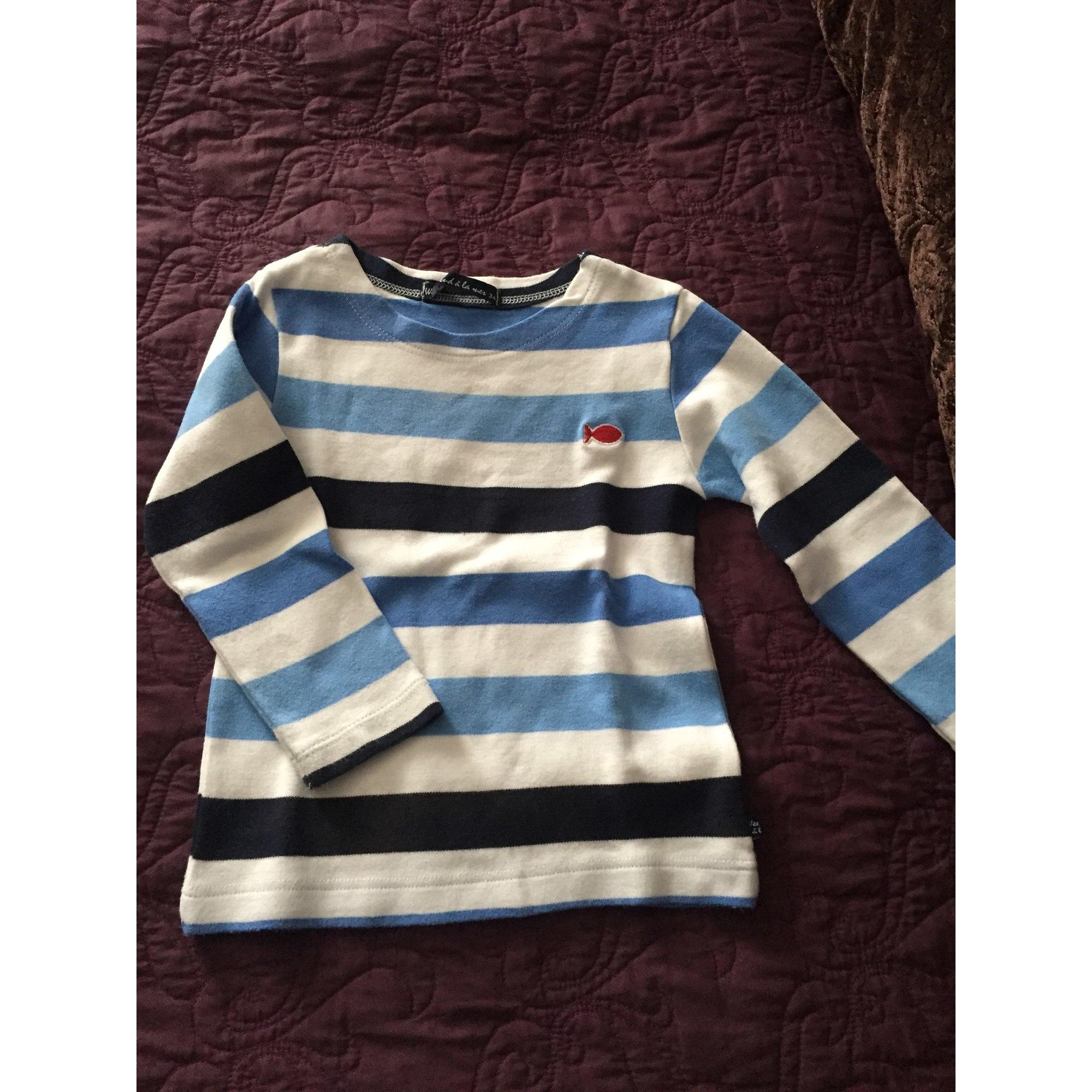 Tee-shirt WEEK-END A LA MER Bleu, bleu marine, bleu turquoise
