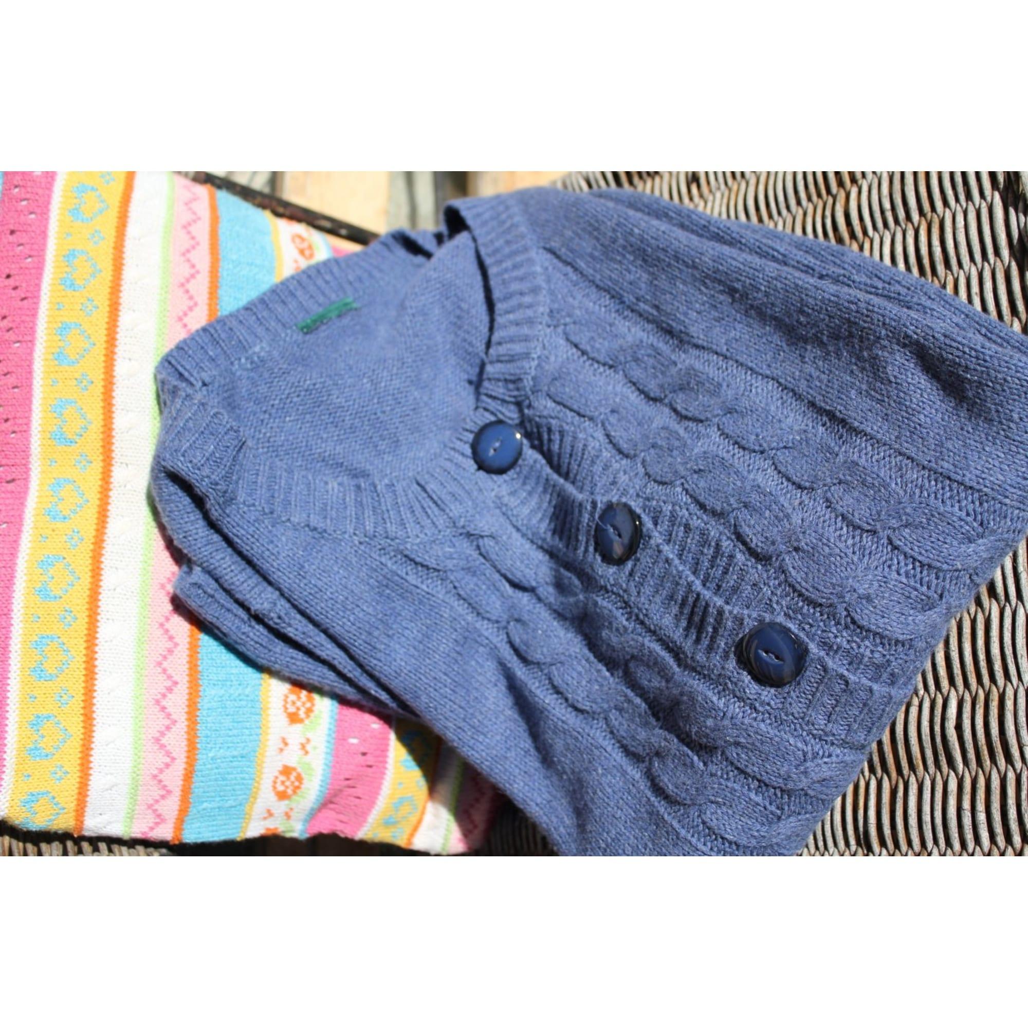 Gilet, cardigan MARC O'POLO Bleu, bleu marine, bleu turquoise