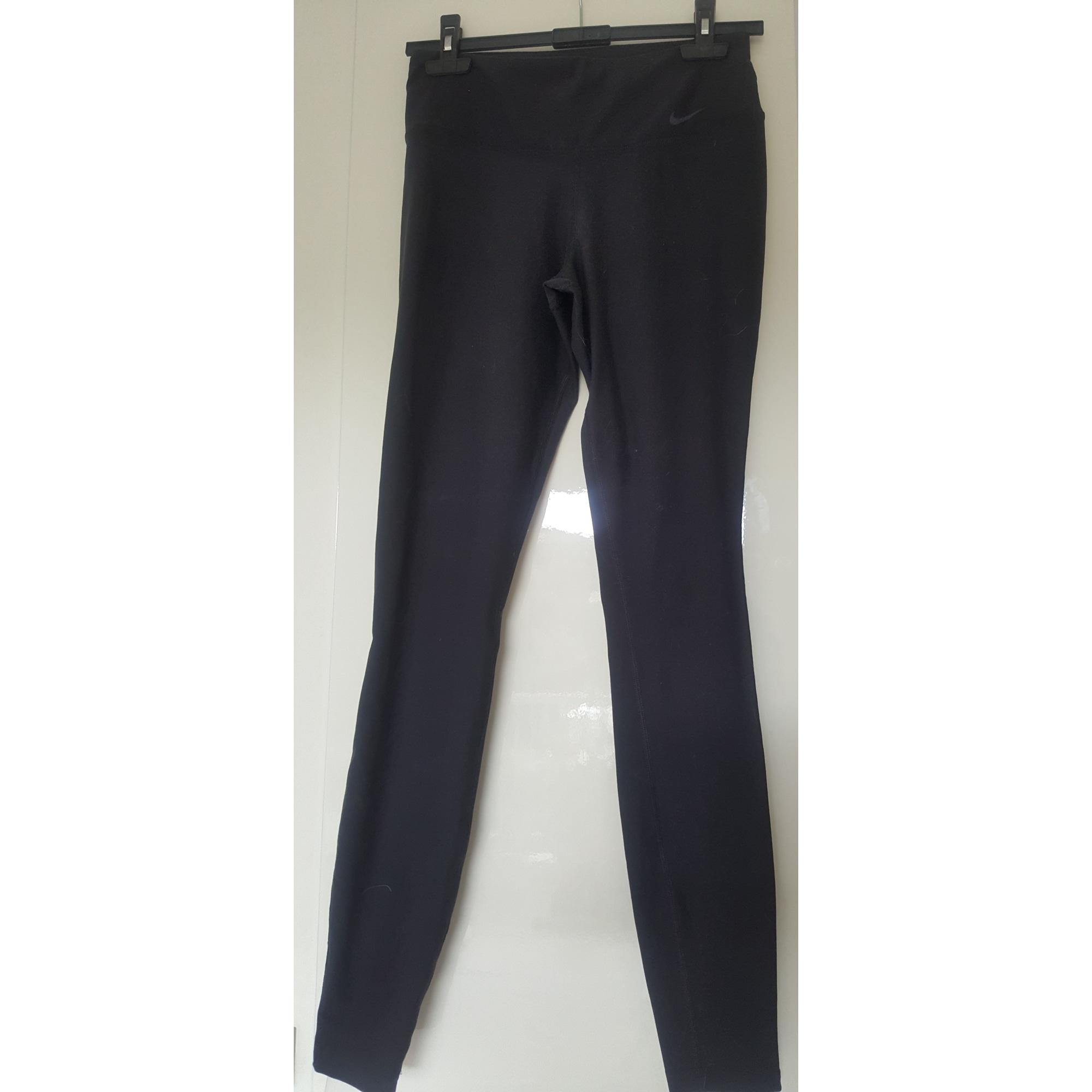 Pantalon slim, cigarette NIKE Noir