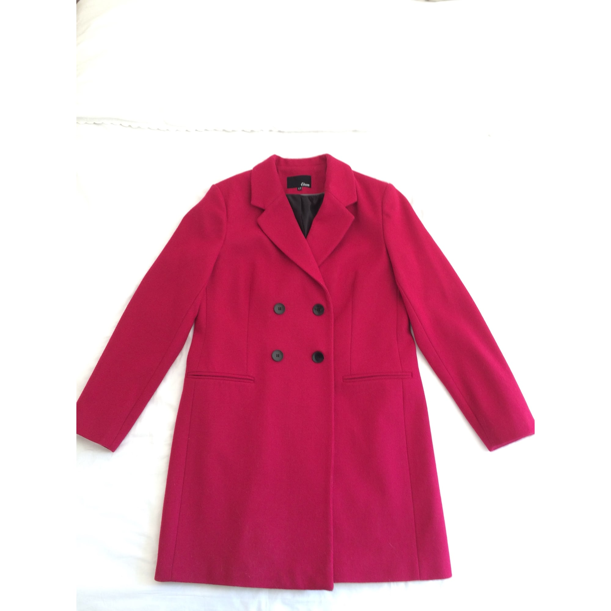 Manteau ETAM 40 (L, T3) rose 6625252