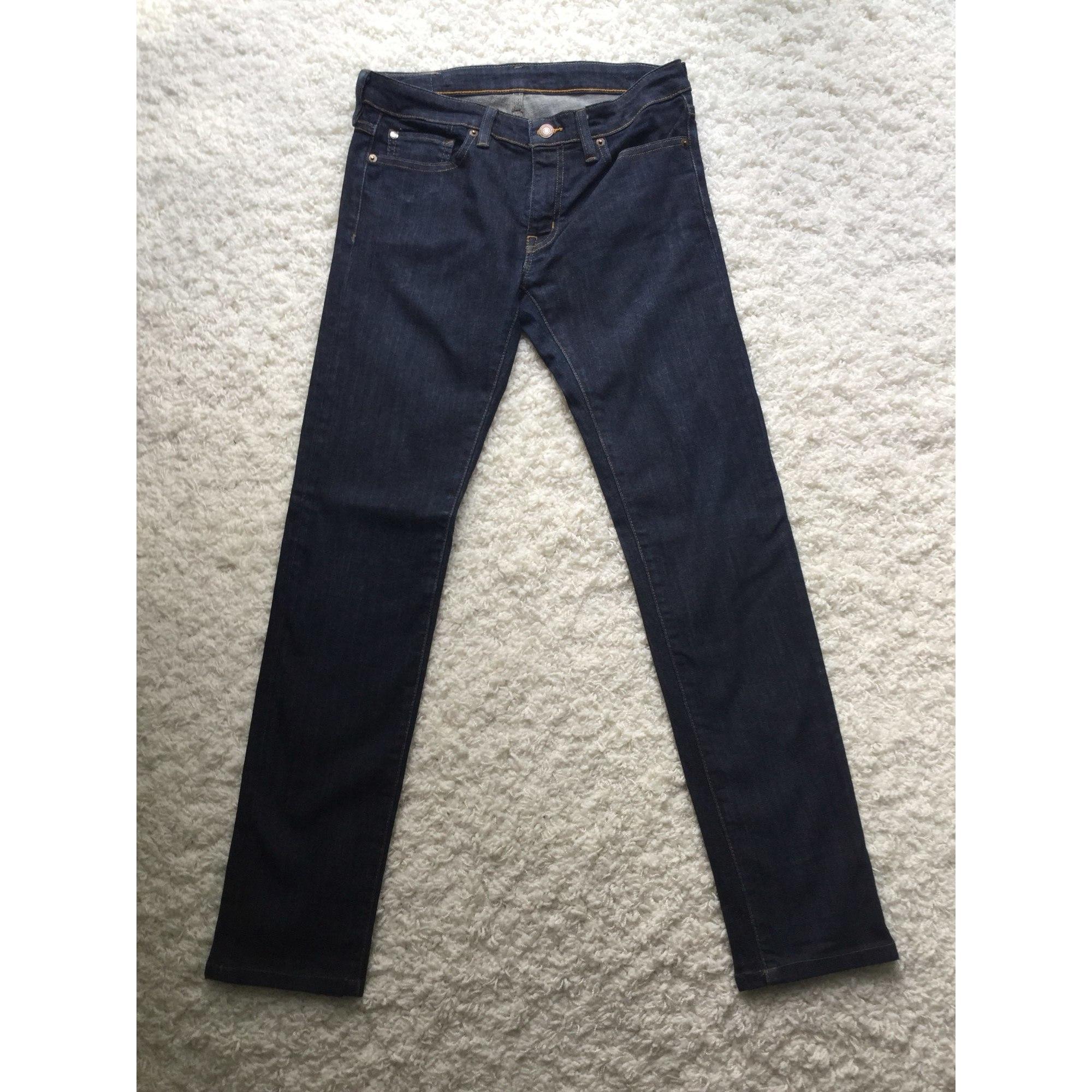 Jeans slim DENIM & SUPPLY Bleu, bleu marine, bleu turquoise