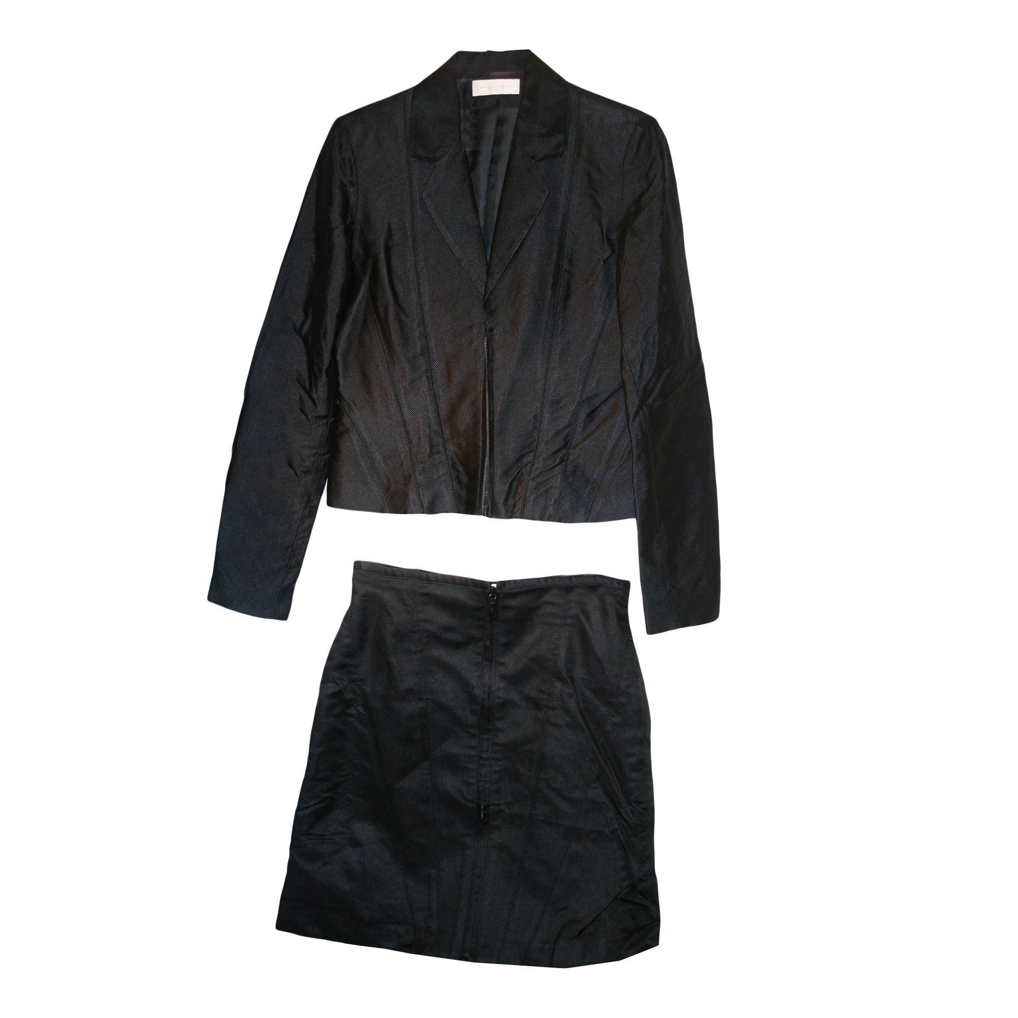 Tailleur jupe KRISTINA POPOVITCH Noir