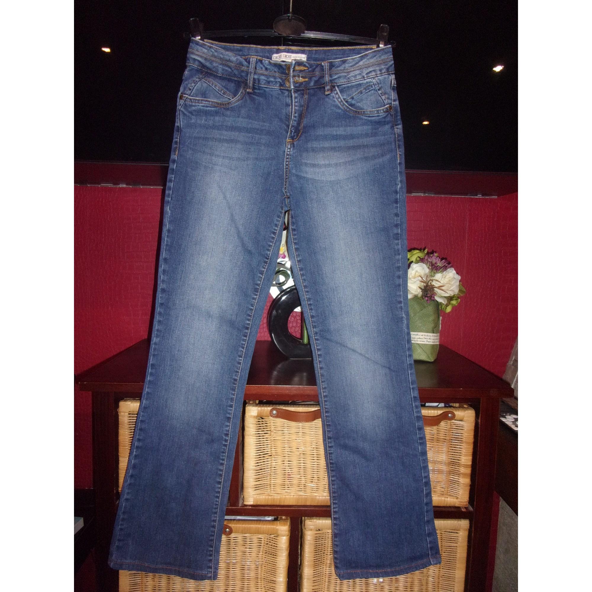 Jeans évasé, boot-cut CACHE CACHE Bleu, bleu marine, bleu turquoise