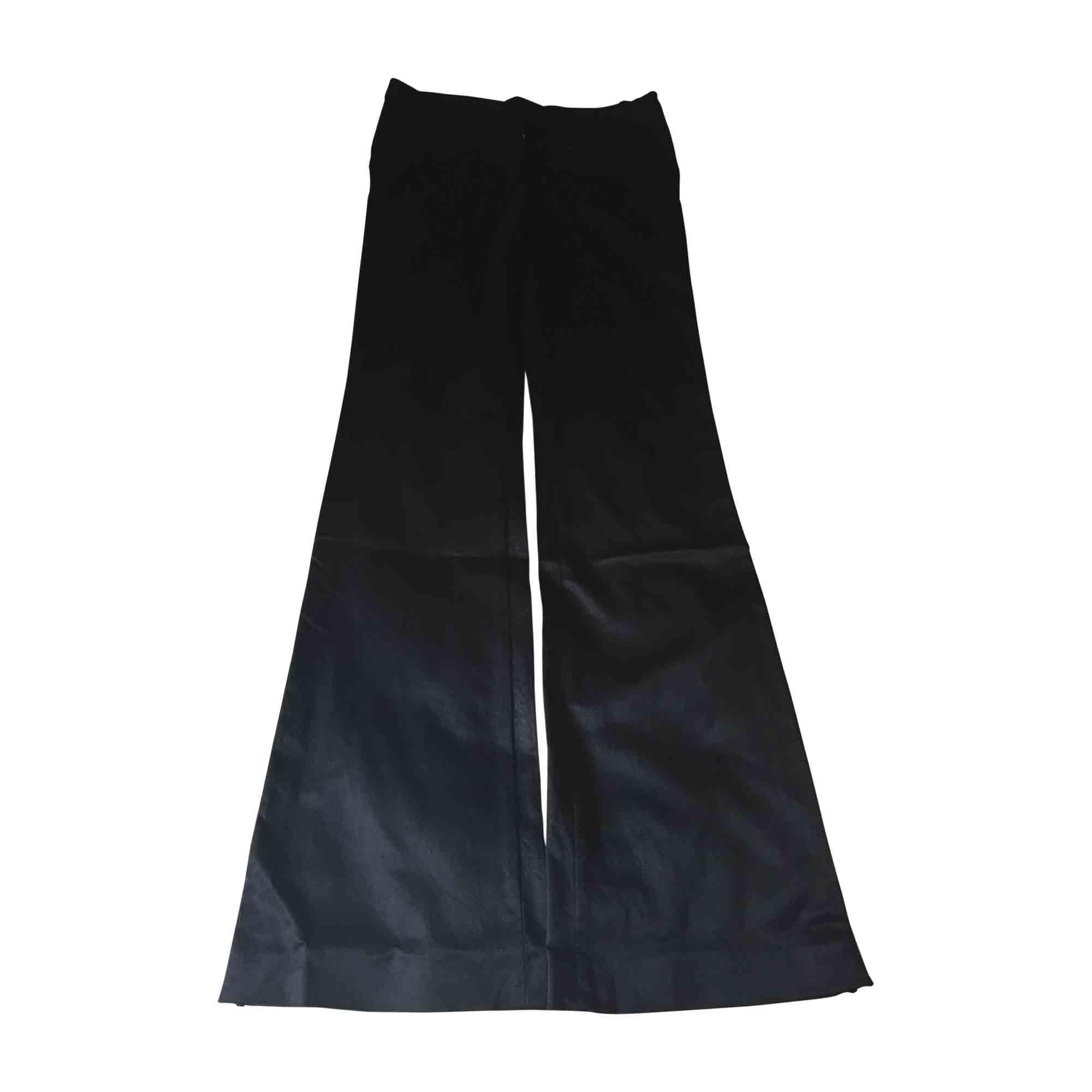 Pantalon large D&G Noir