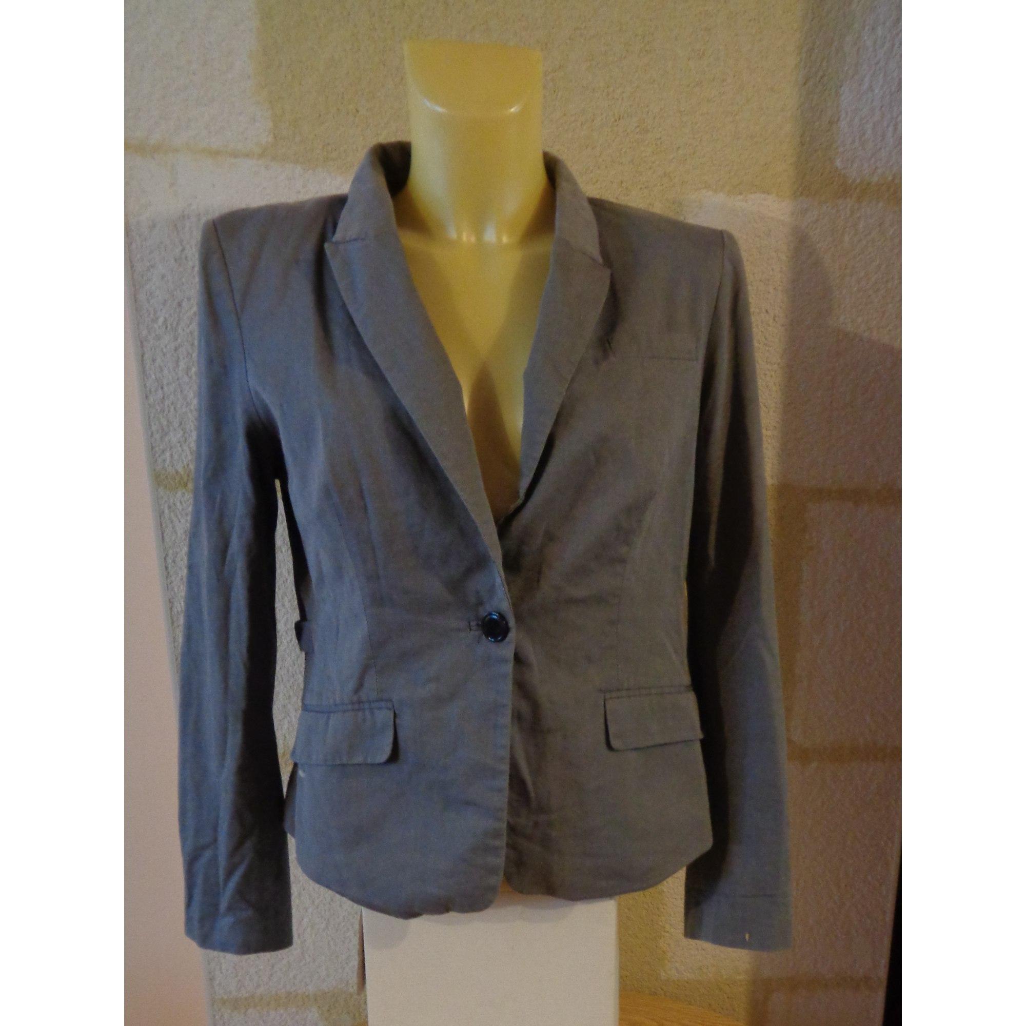 Blazer, veste tailleur H&M Gris, anthracite