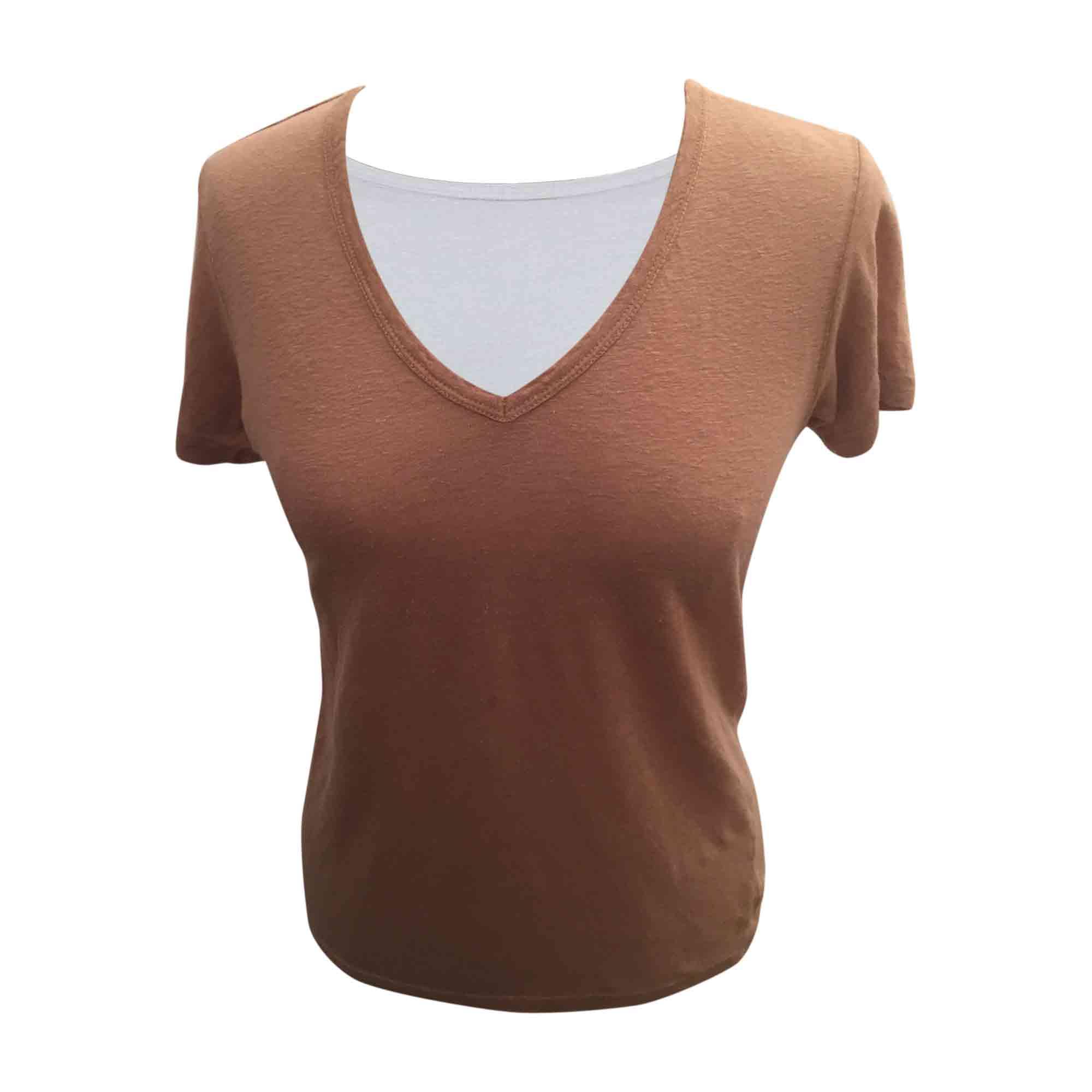 Top, tee-shirt ISABEL MARANT ETOILE Beige, camel