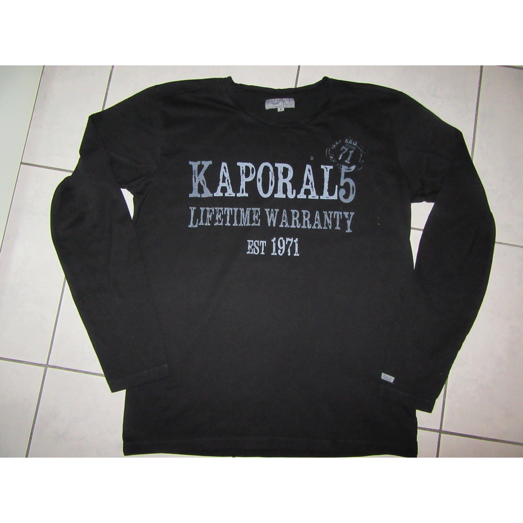 Tee-shirt KAPORAL Noir