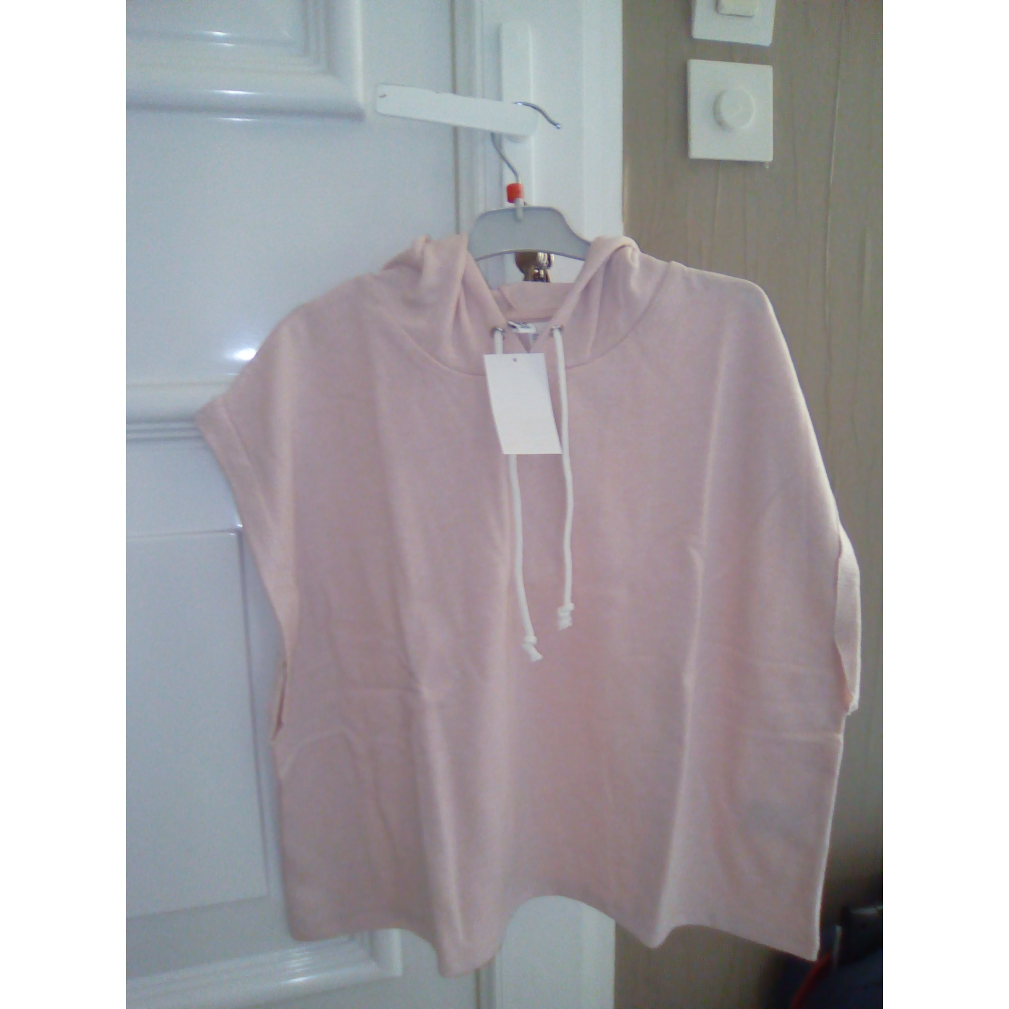 Sweat H&M Rose, fuschia, vieux rose