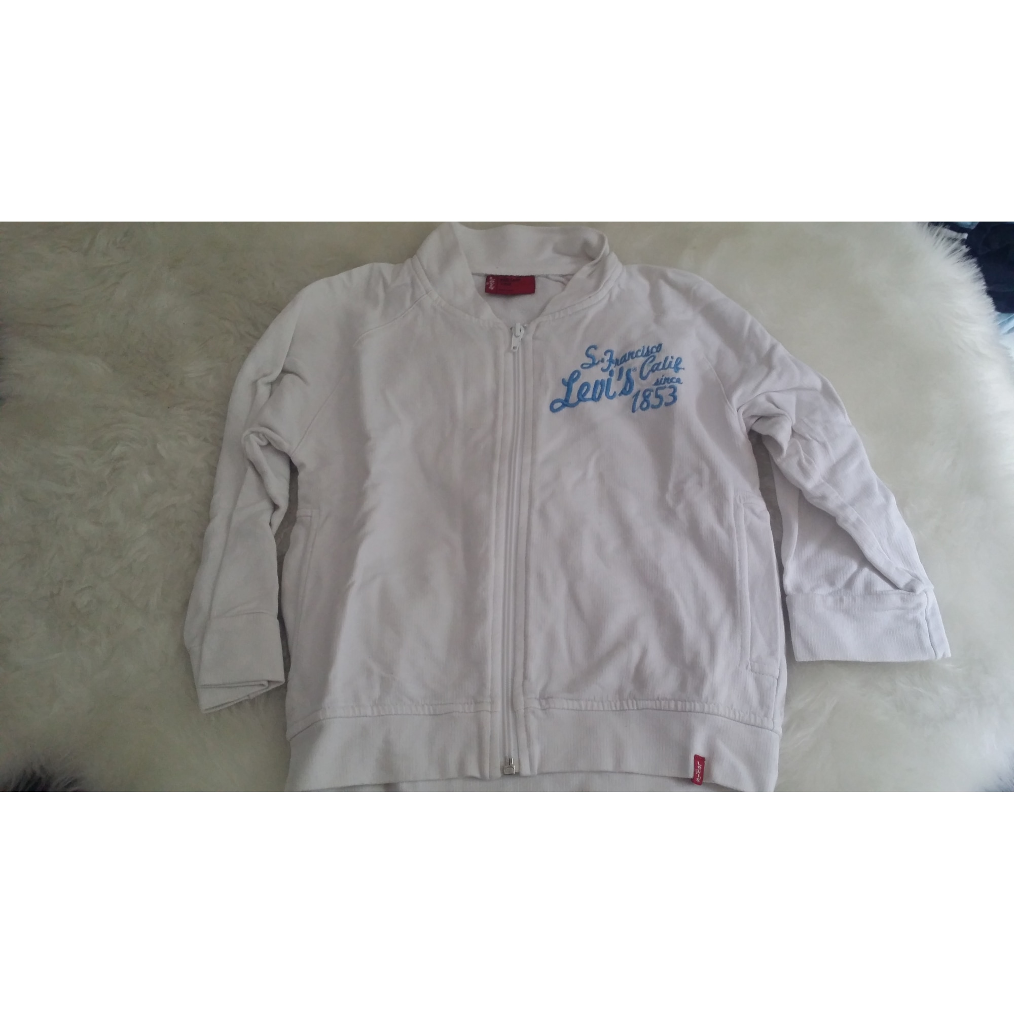 Vest, Cardigan LEVI'S White, off-white, ecru