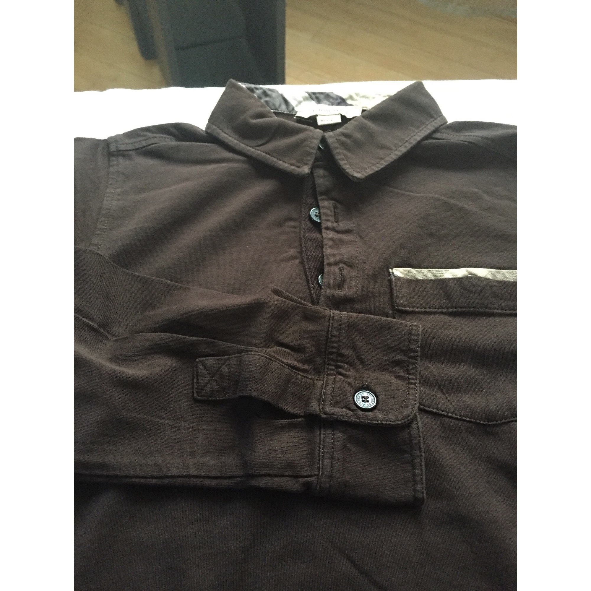 Polo BURBERRY Marron