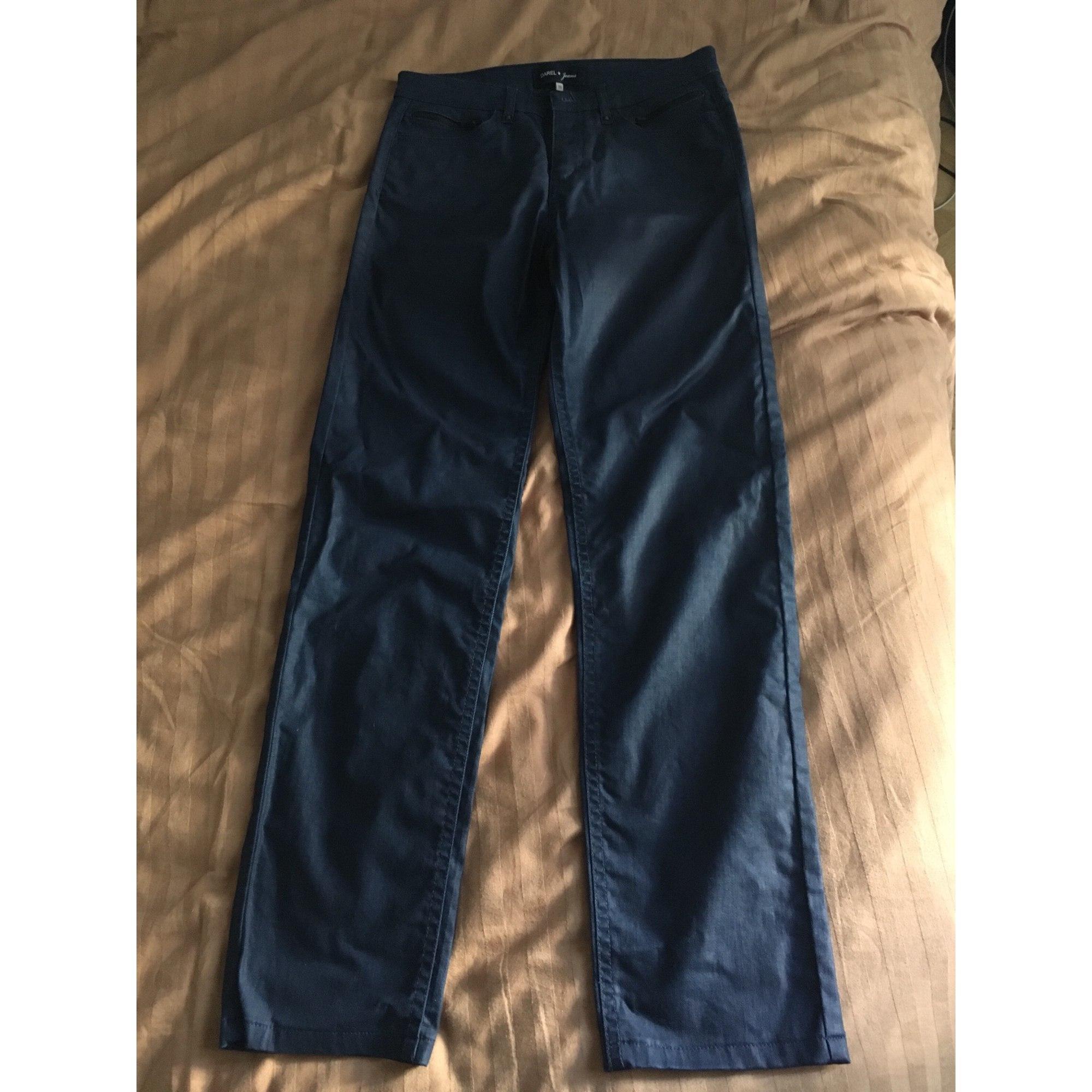 Pantalon slim, cigarette GERARD DAREL Bleu, bleu marine, bleu turquoise